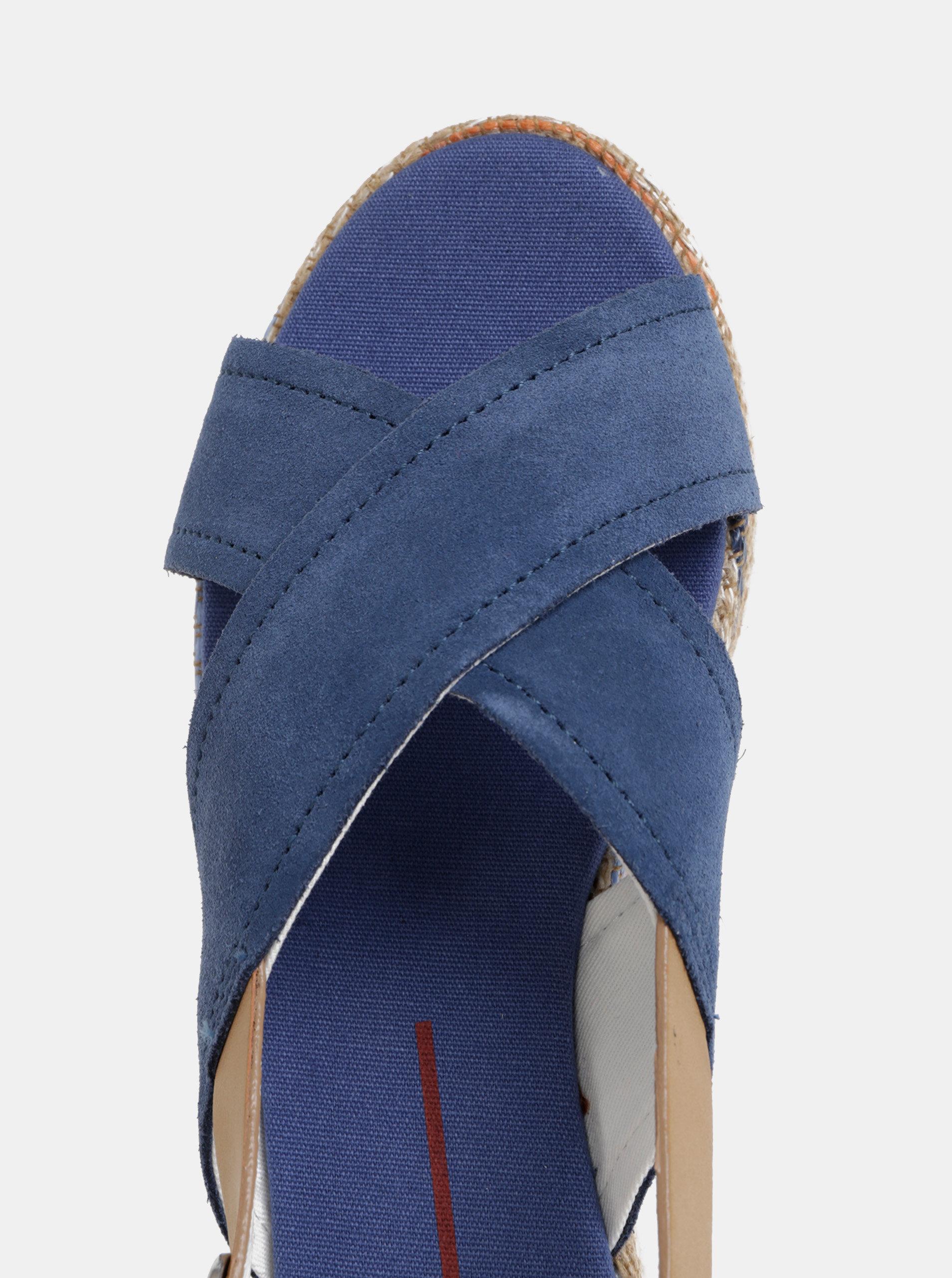 bafaf26db433e Modré dámske semišové sandále U.S. Polo Assn. | ZOOT.sk
