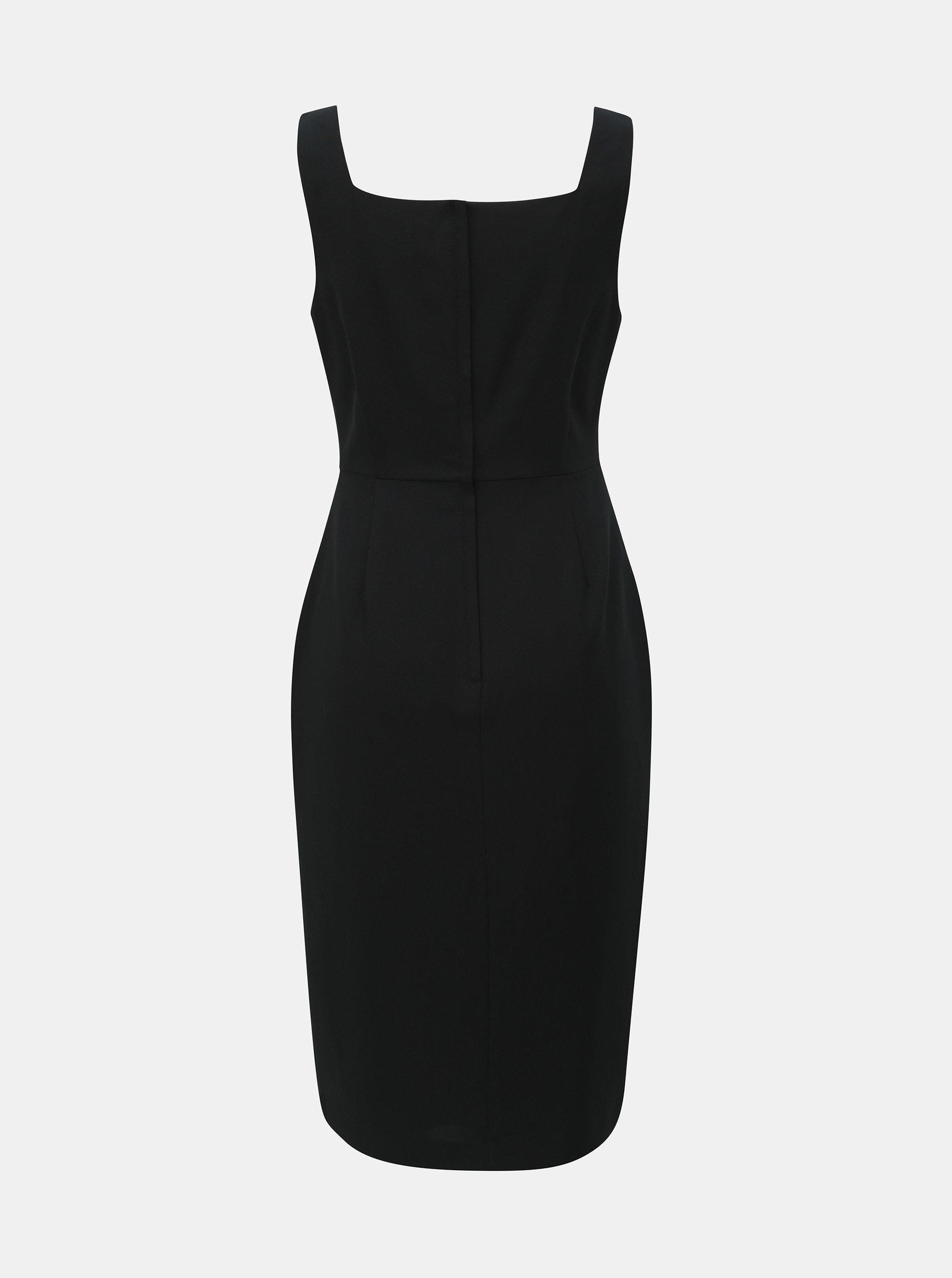 223fccd2401d Čierne puzdrové šaty na ramienka Dorothy Perkins ...