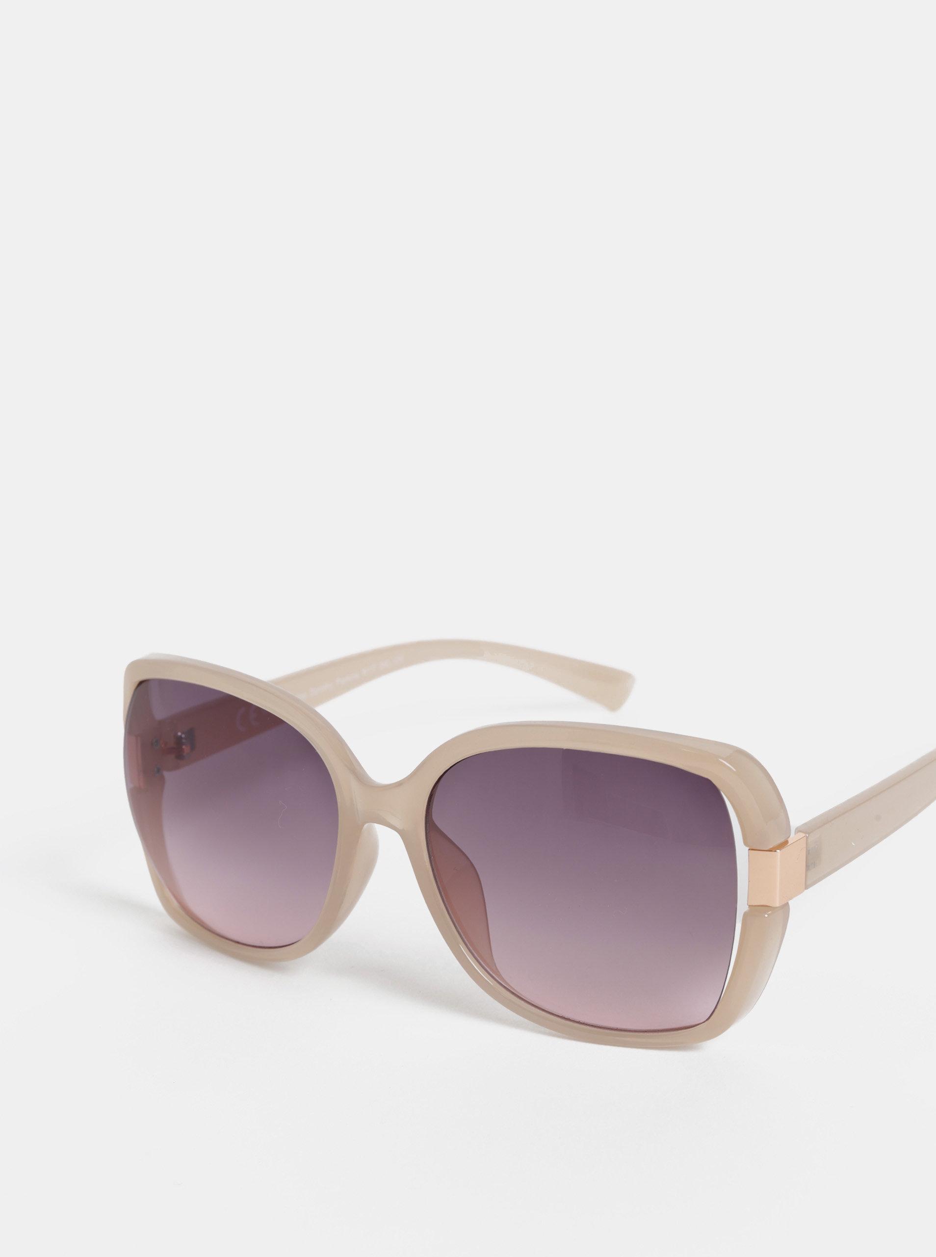 64fec2eea4 Béžové slnečné okuliare Dorothy Perkins ...