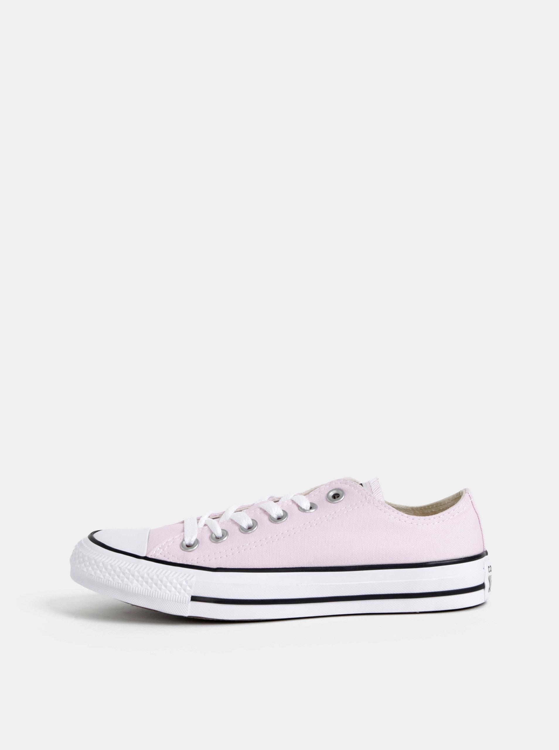 b4facc6a84 Světle růžové dámské tenisky Converse Chuck Taylor All Star ...