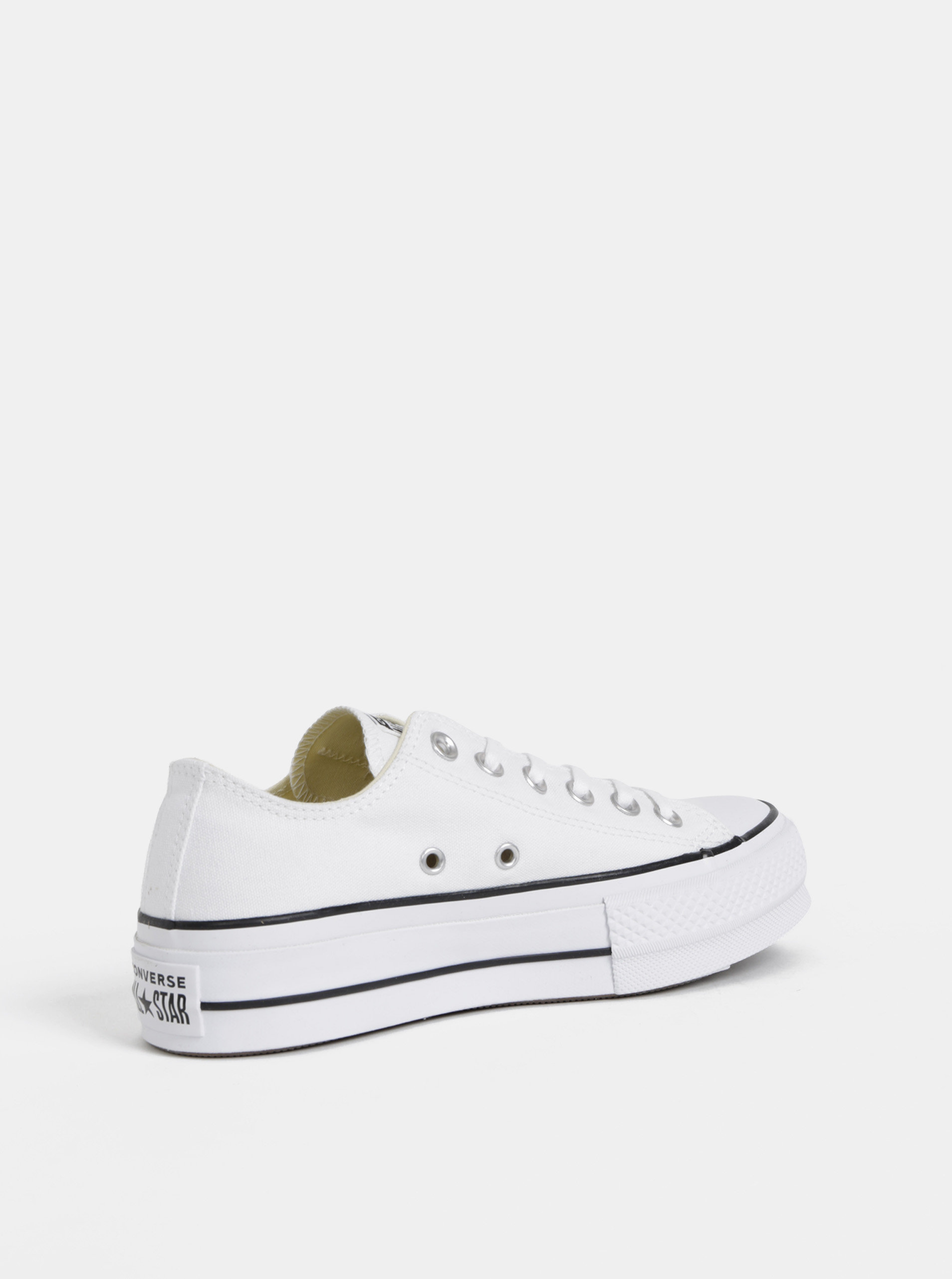 b043f76853 Biele dámske tenisky na platforme Converse Chuck Taylor All Star ...