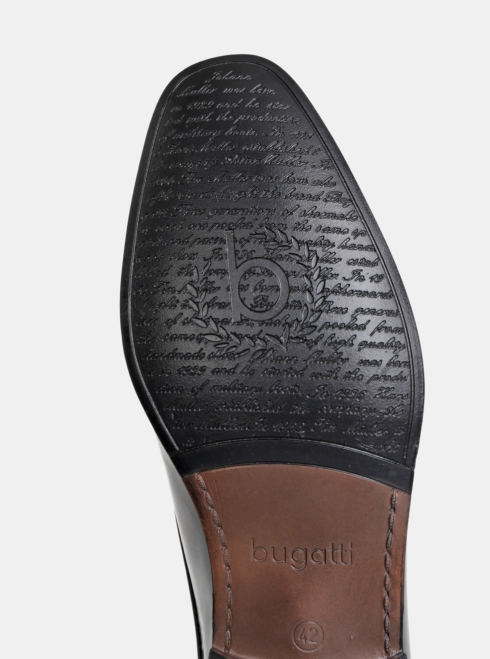 1605f8205 Čierne pánske kožené poltopánky bugatti | ZOOT.sk
