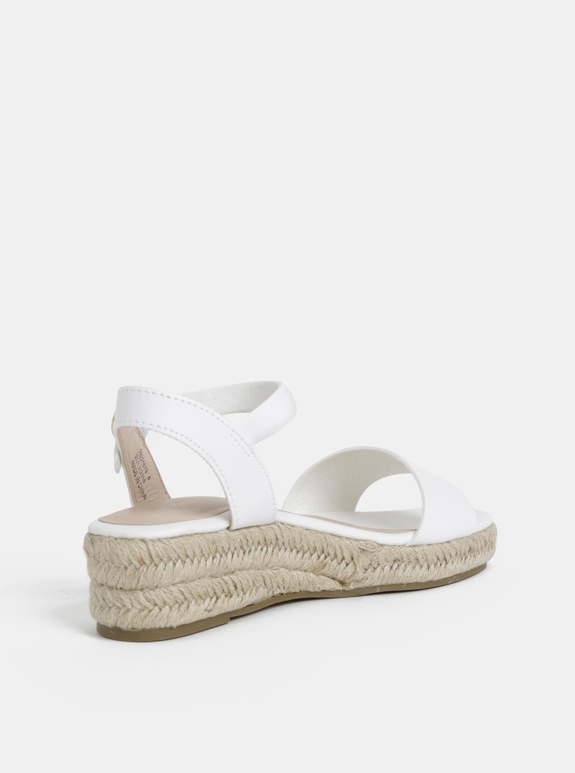 73890aa4680f Biele sandále Dorothy Perkins ...