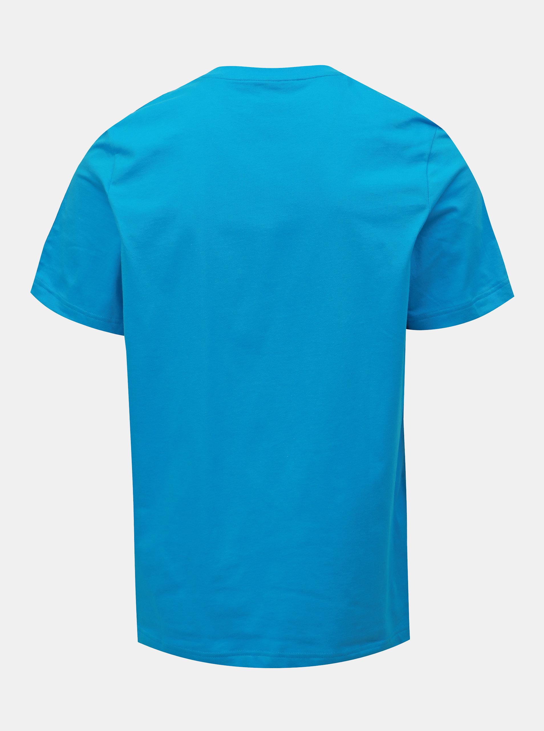 f9ef58fe73 Modré pánské tričko adidas CORE Essentials ...