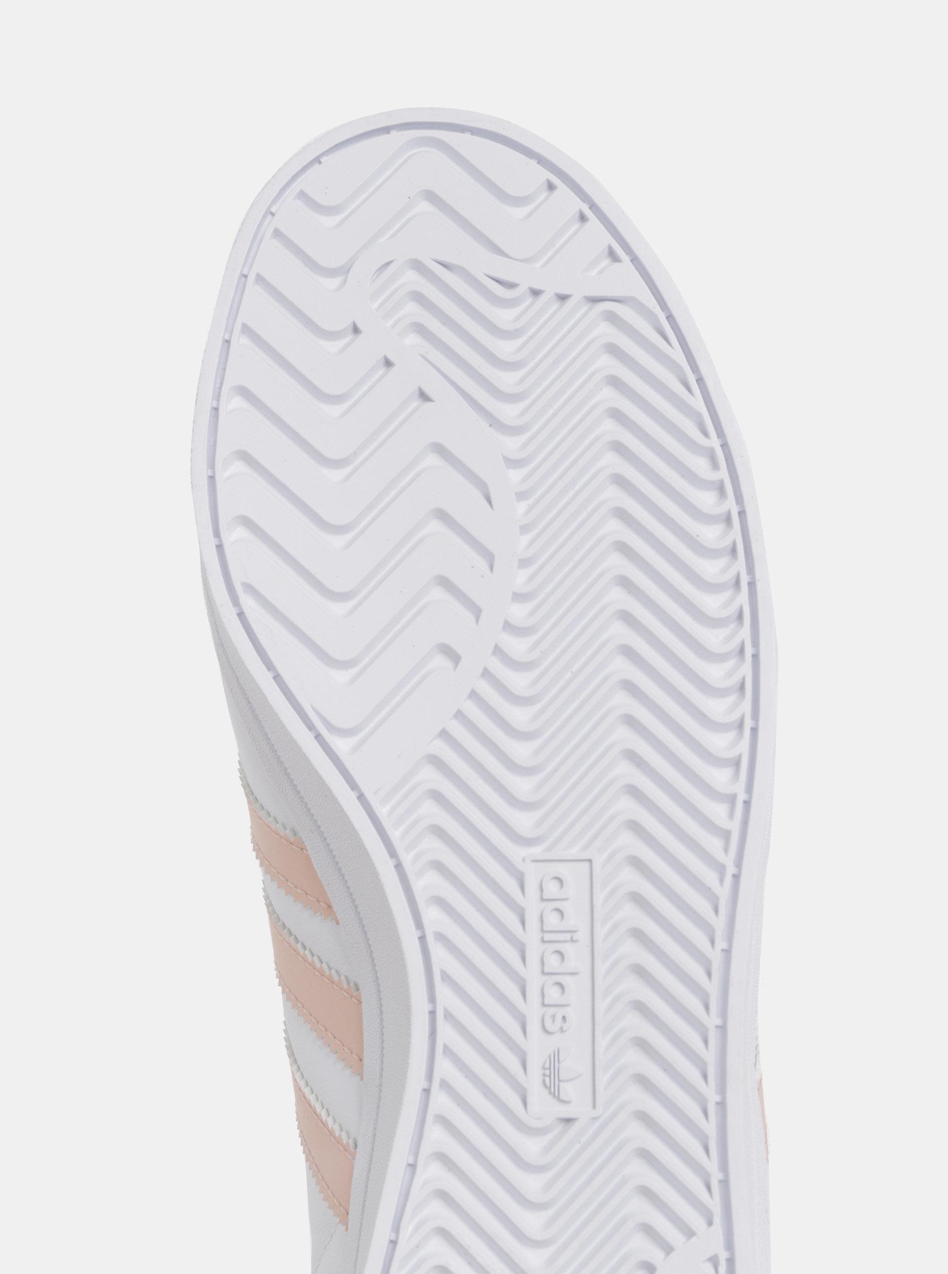 bd1e60ac64d43 Biele dámske kožené tenisky adidas Originals Coast Star | ZOOT.sk