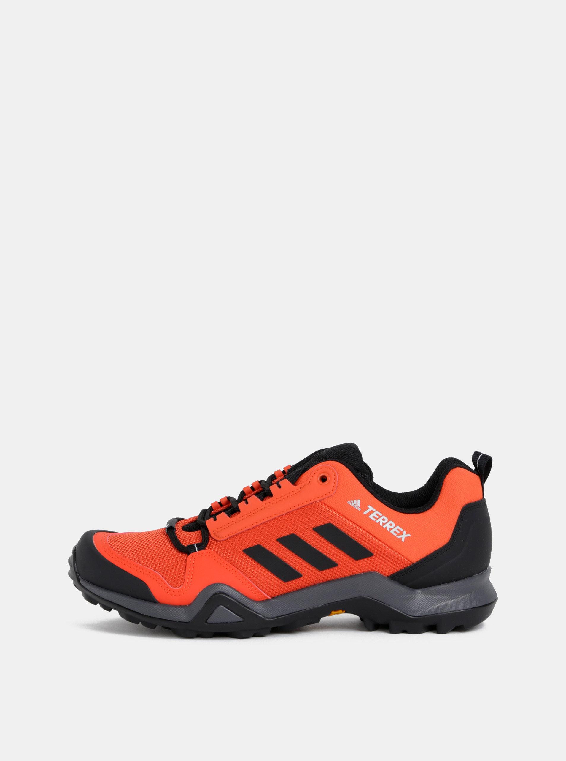 af89bea311be Červené pánske tenisky adidas Performance Terrex AX3 ...