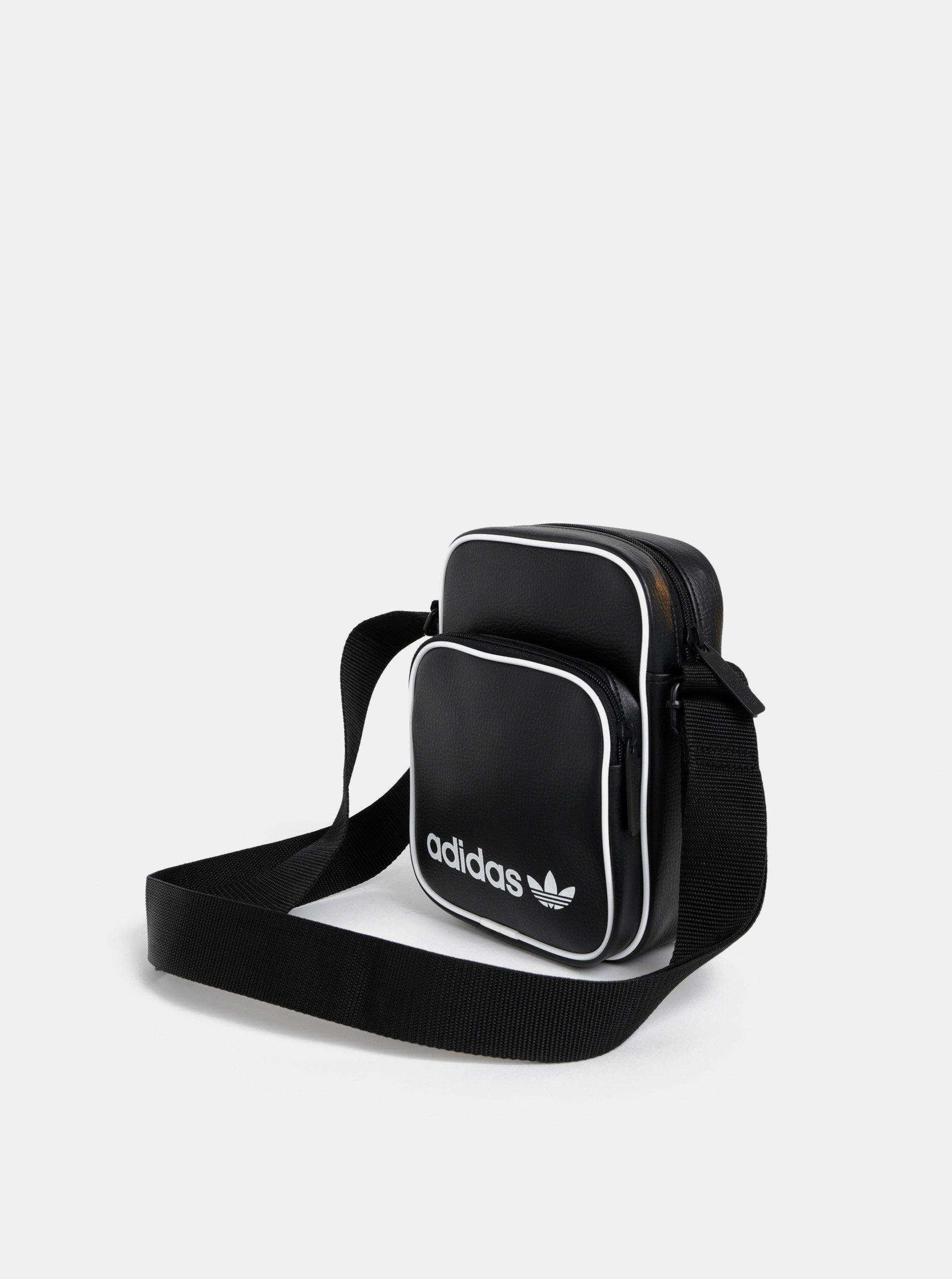 54a2b6afaa Čierna crossbody taška adidas Originals Mini Vintage ...