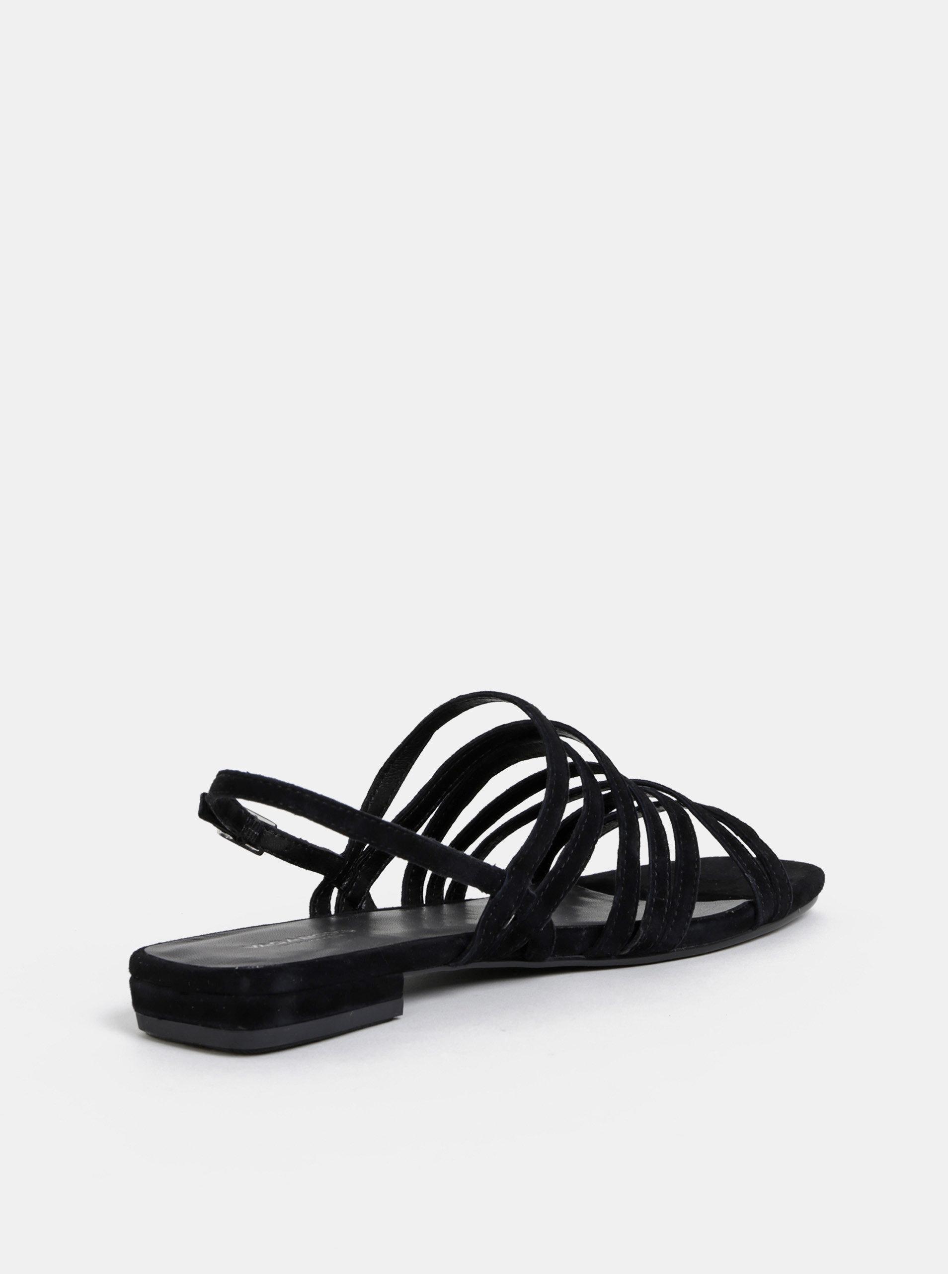 95ff76b80f082 Čierne dámske semišové sandále Vagabond Becky   ZOOT.sk