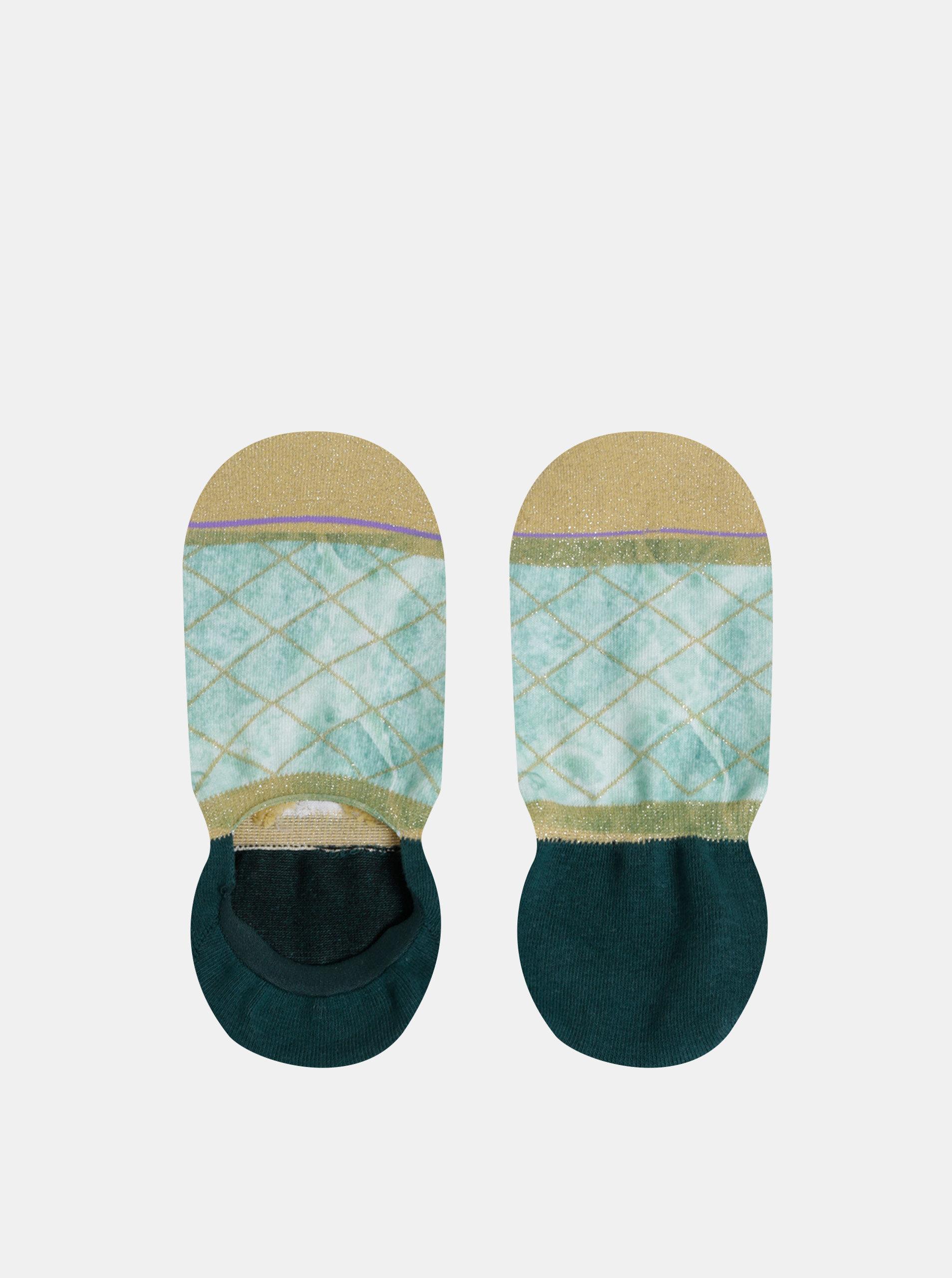 Zelené dámské ponožky XPOOOS