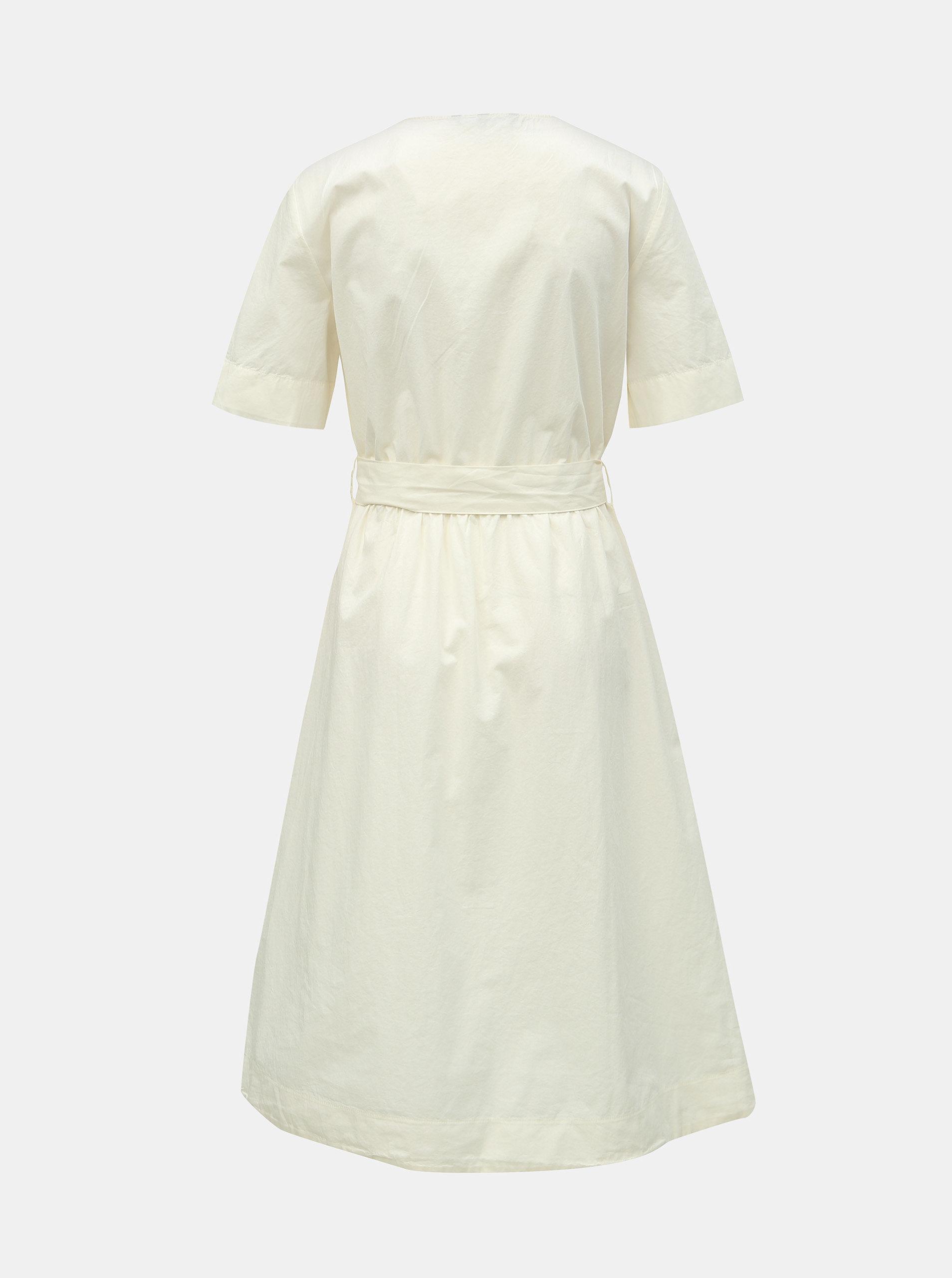 471286215782 Biele šaty s opaskom VERO MODA Kammi ...