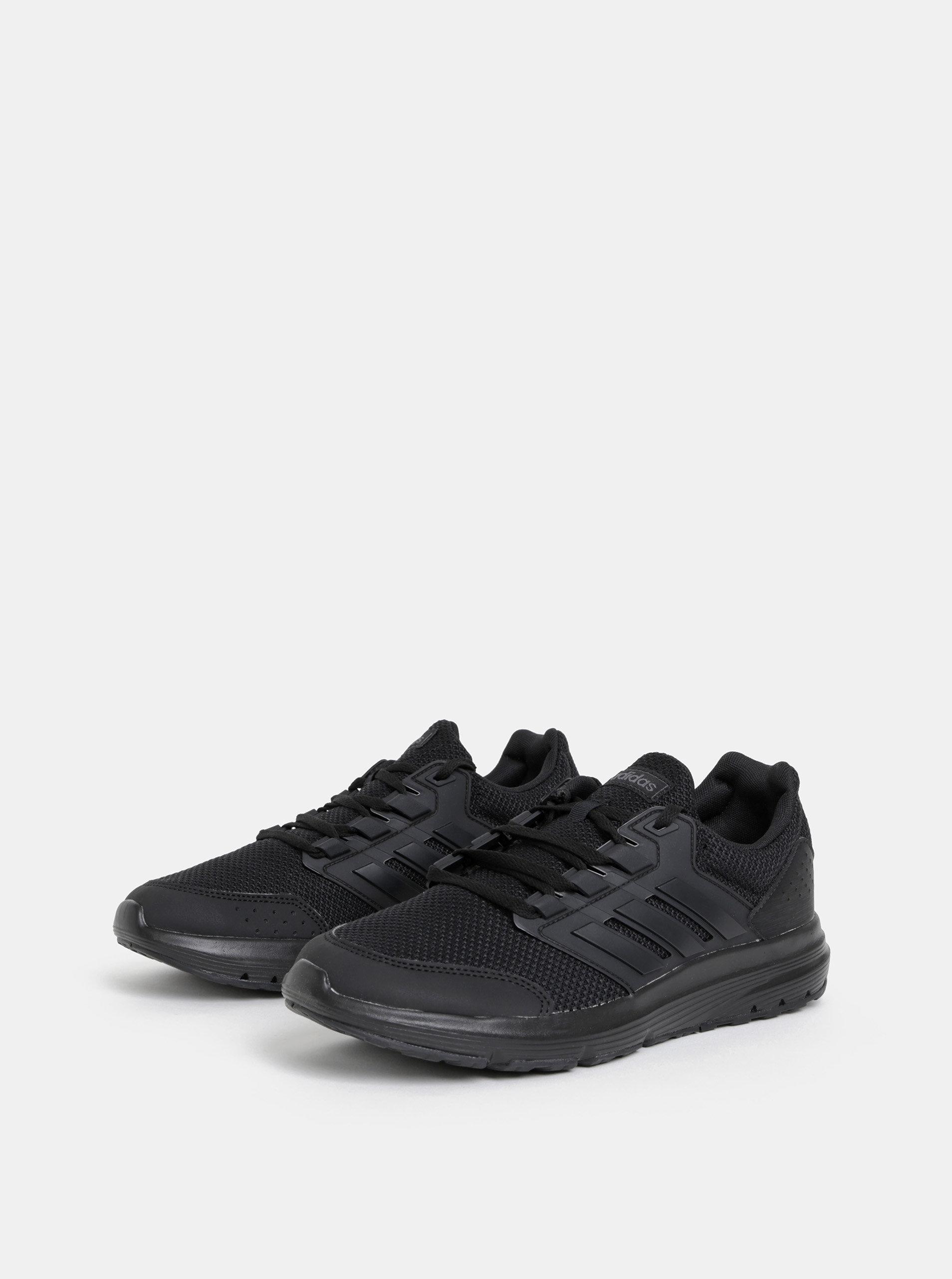 b856d3d8a8bc9 Čierne pánske tenisky adidas CORE Galaxy 4 | ZOOT.sk