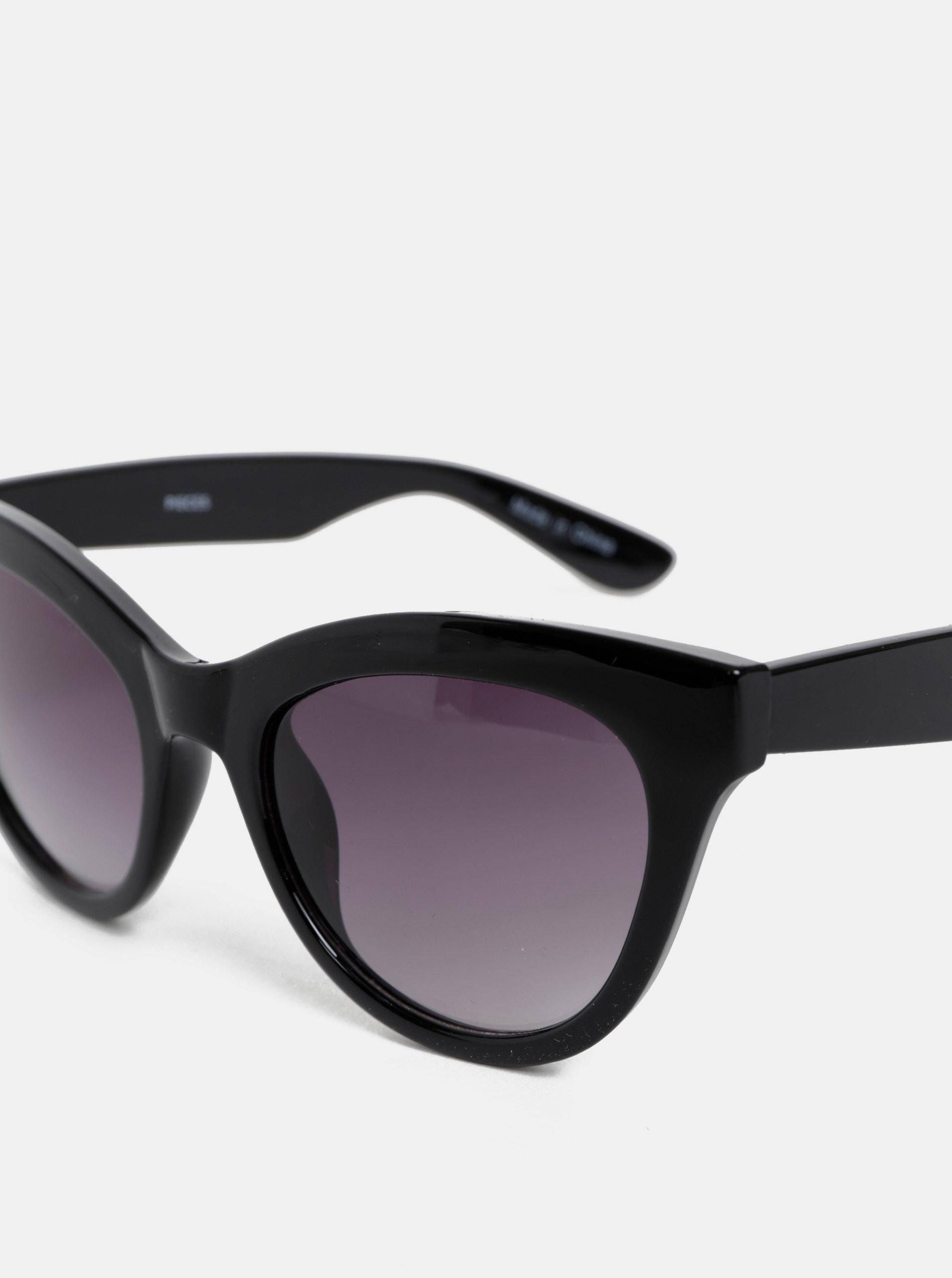 8d2a962f1 Čierne slnečné okuliare Pieces Betty | ZOOT.sk