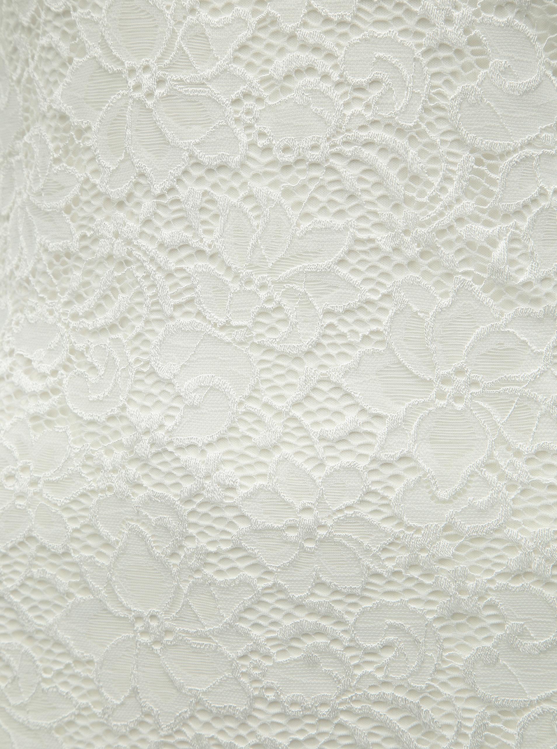 d4b483dc8997 Bílé krajkové šaty ONLY Alba ...