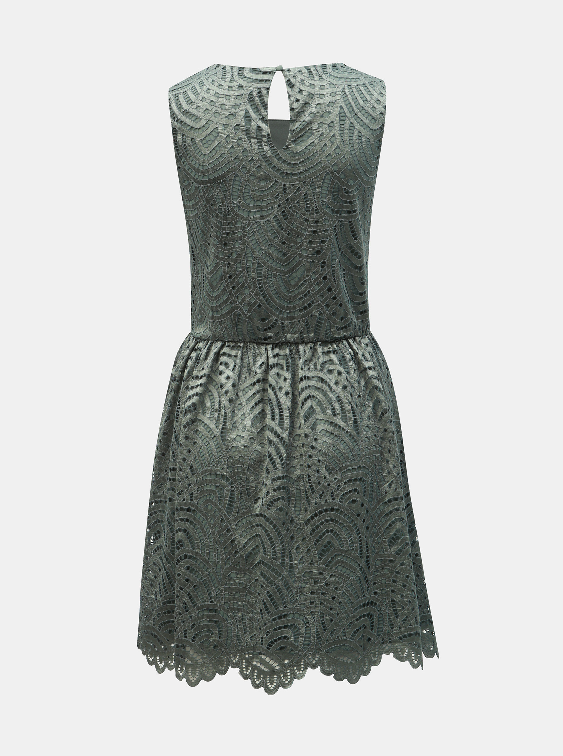 0f2ec1f657da Zelené čipkované šaty ONLY Edith ...