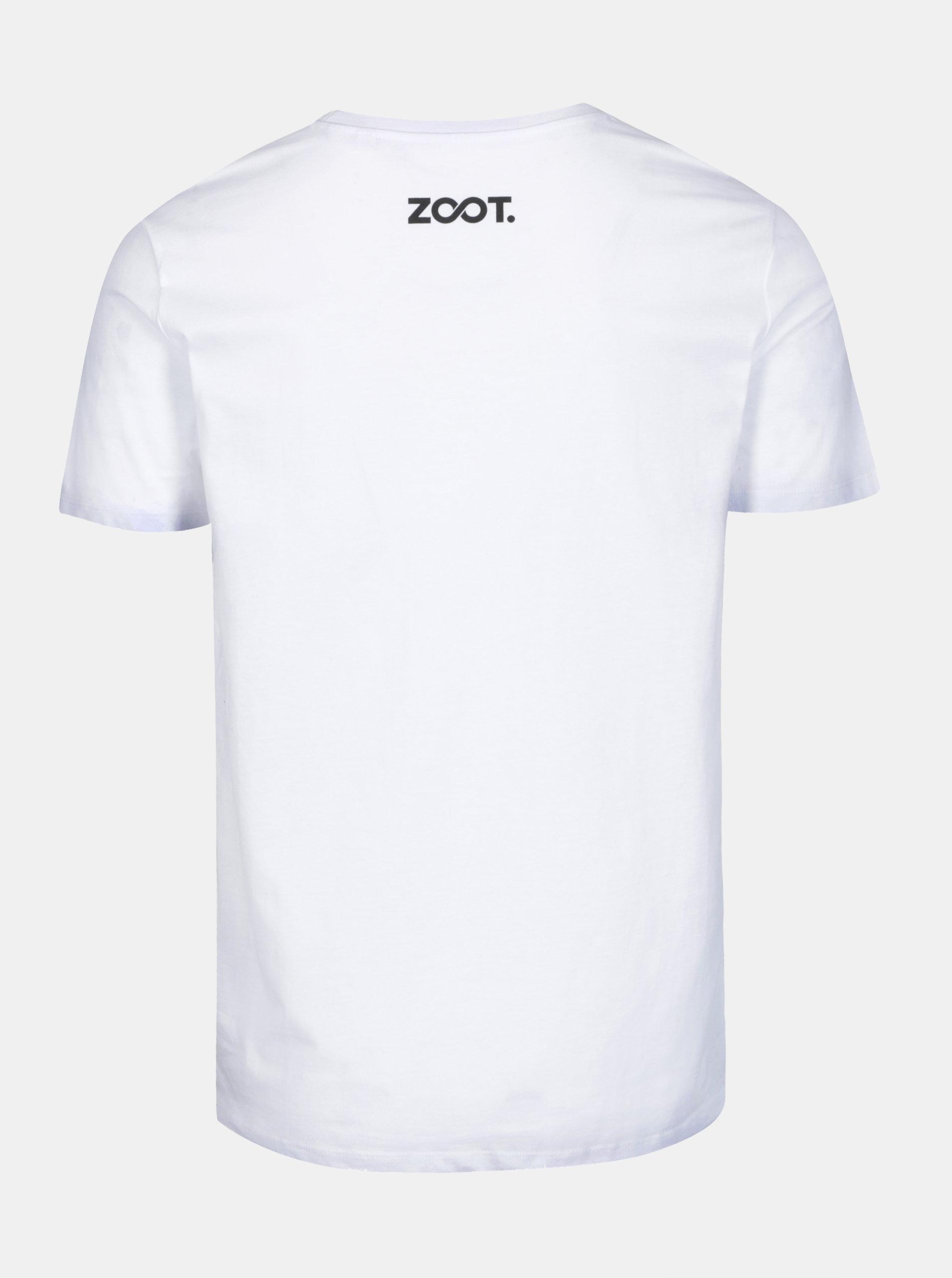 b0b2a83486d9 Biele pánske tričko s potlačou ZOOT Original Láska ...