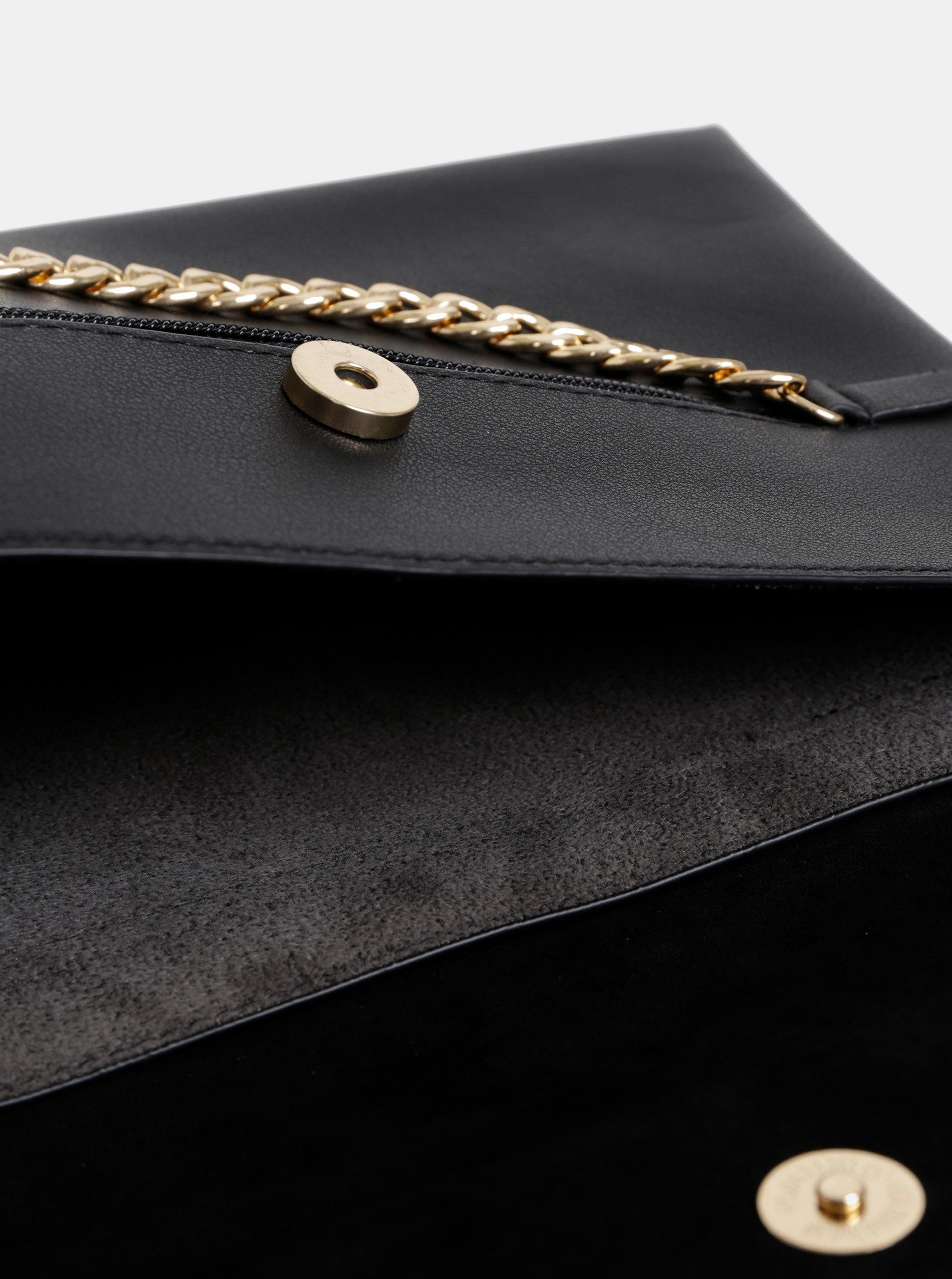 7a6b13011b Čierna crossbody kabelka s detailom v semišovej úprave Dorothy Perkins