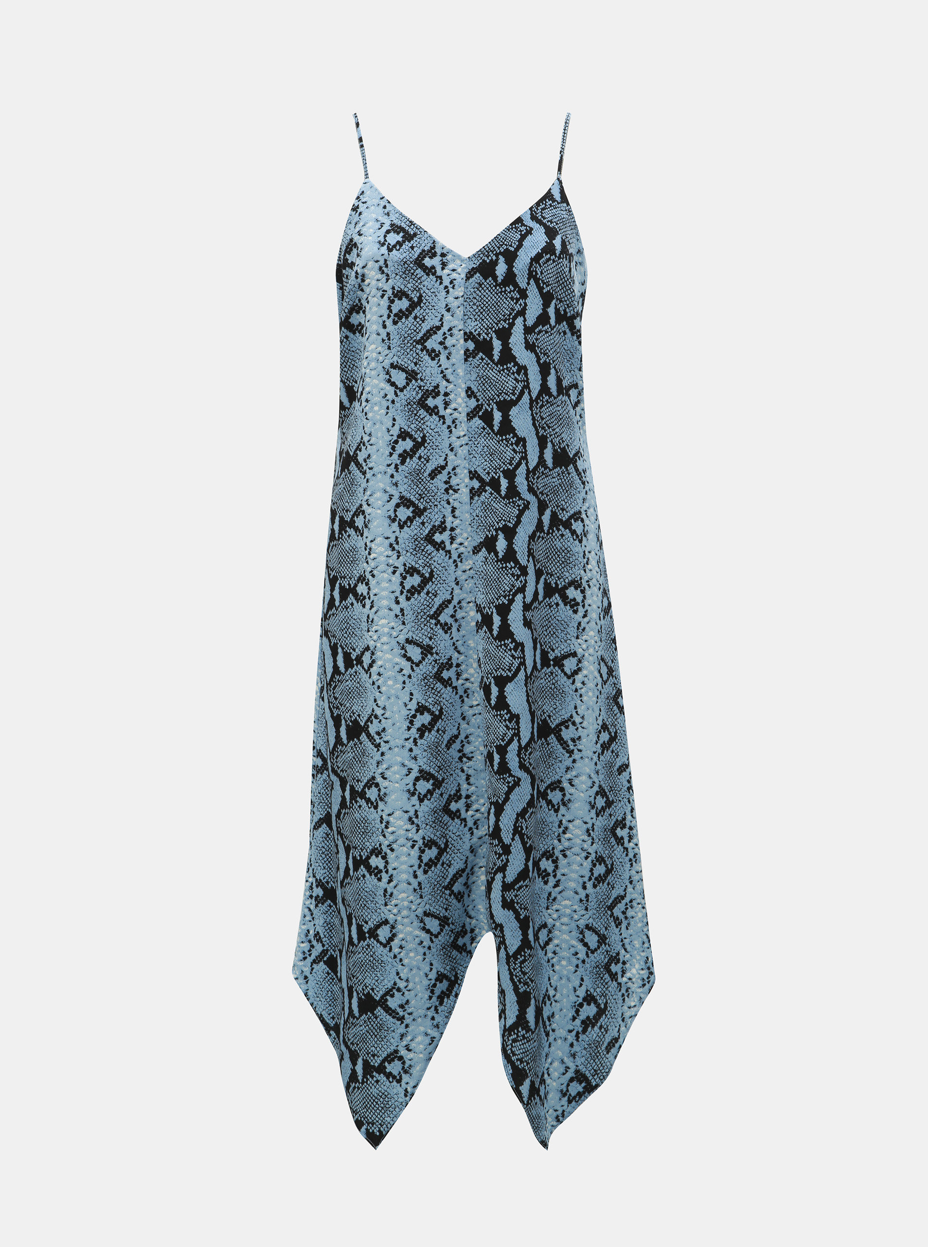 7c4b2c87af05 Čierno–modré šaty s hadím vzorom Dorothy Perkins ...