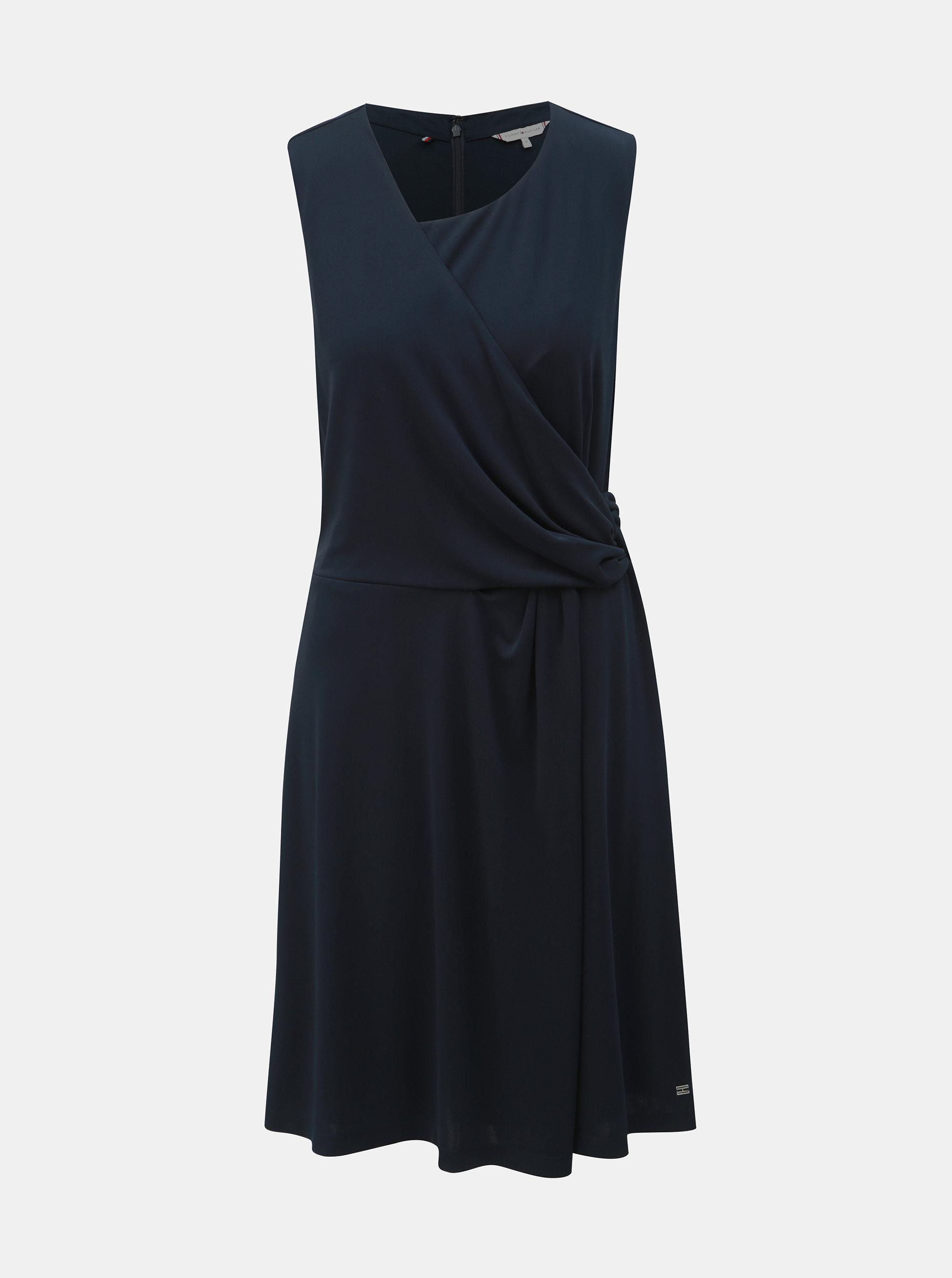 76abc04afd Tmavě modré šaty Tommy Hilfiger Barbara ...