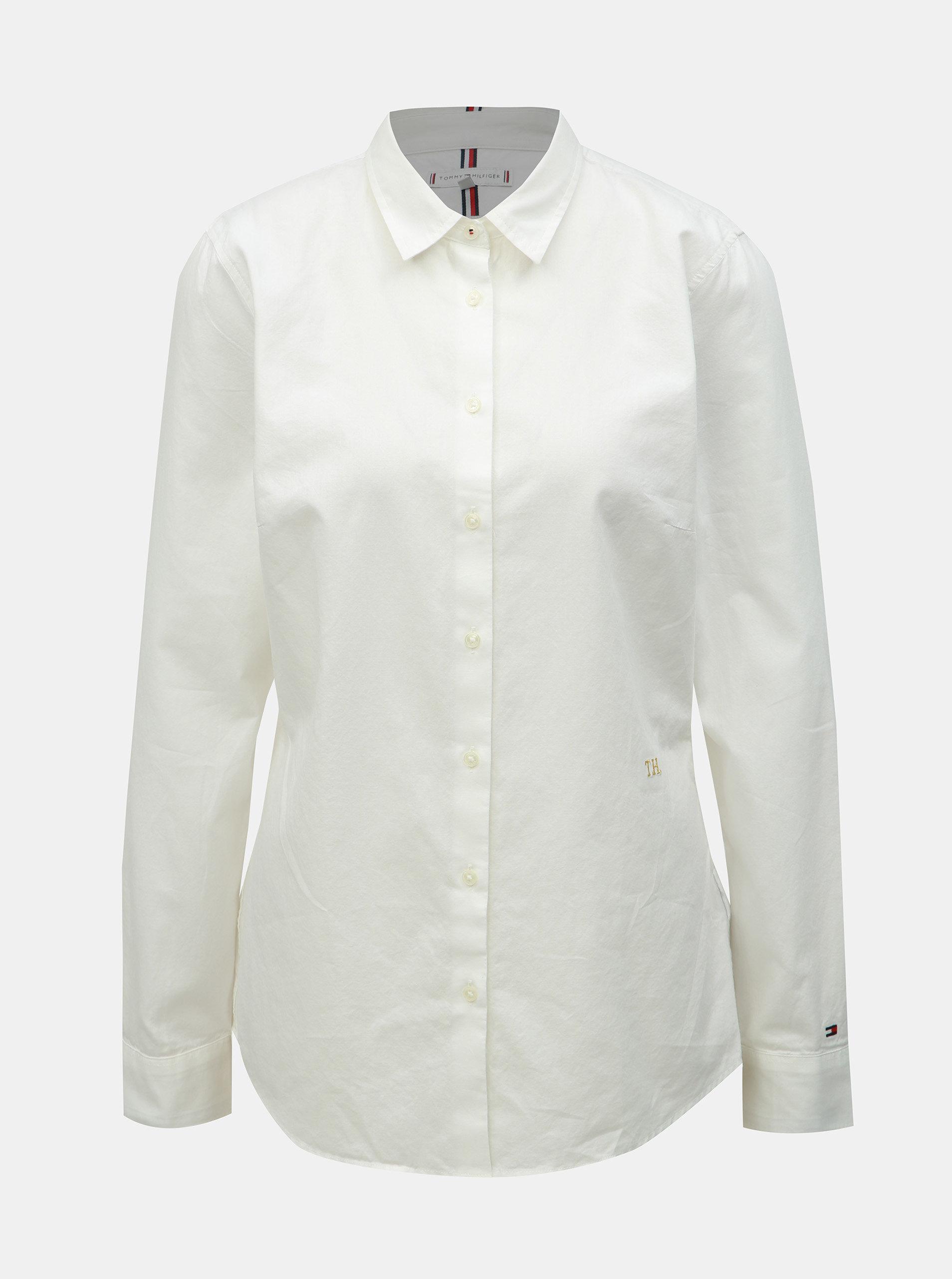 8cd12b28b728 Biela dámska košeľa Tommy Hilfiger Essential ...