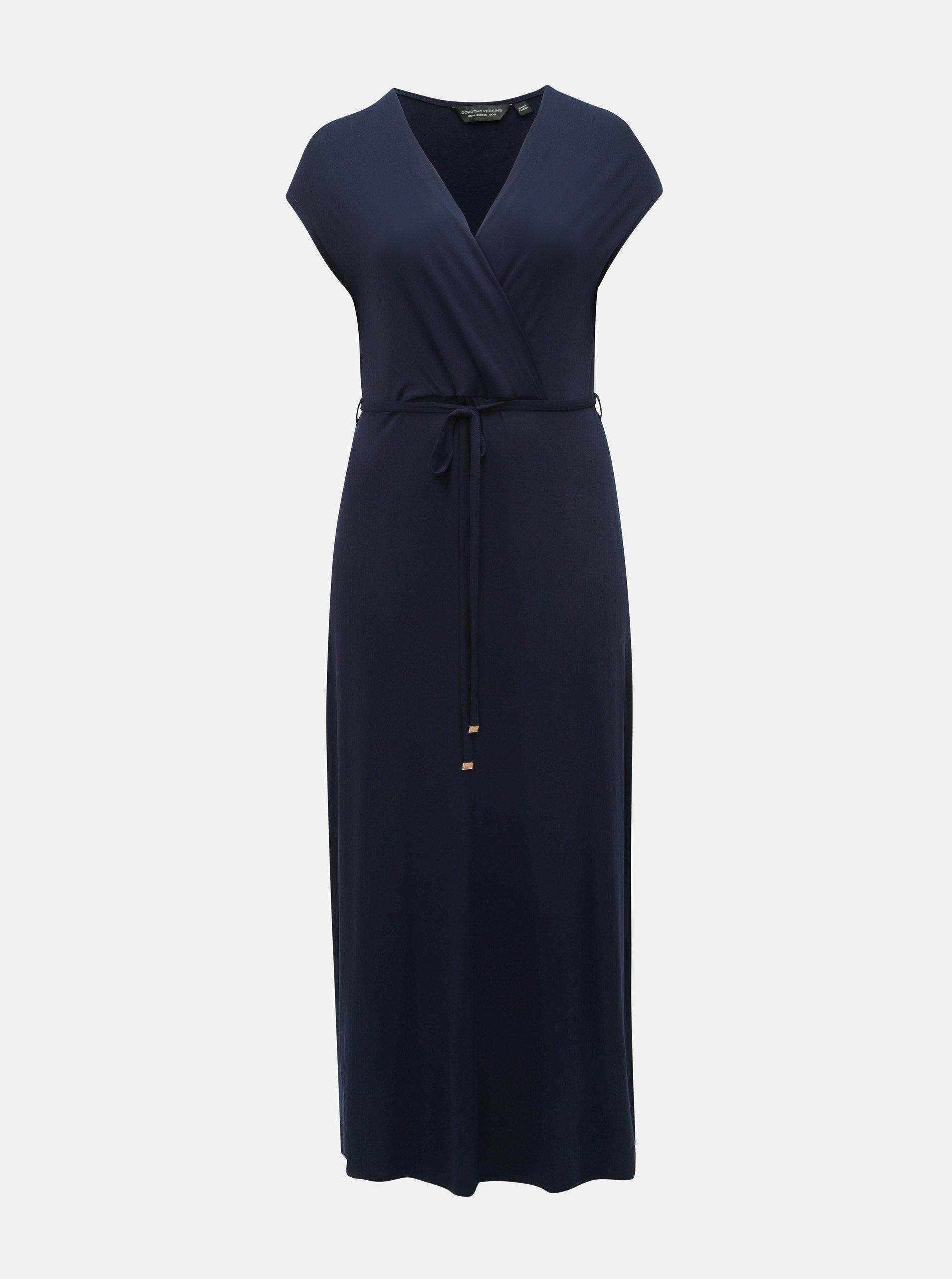 5a05e11d6da7 Tmavě modré maxišaty Dorothy Perkins Curve ...