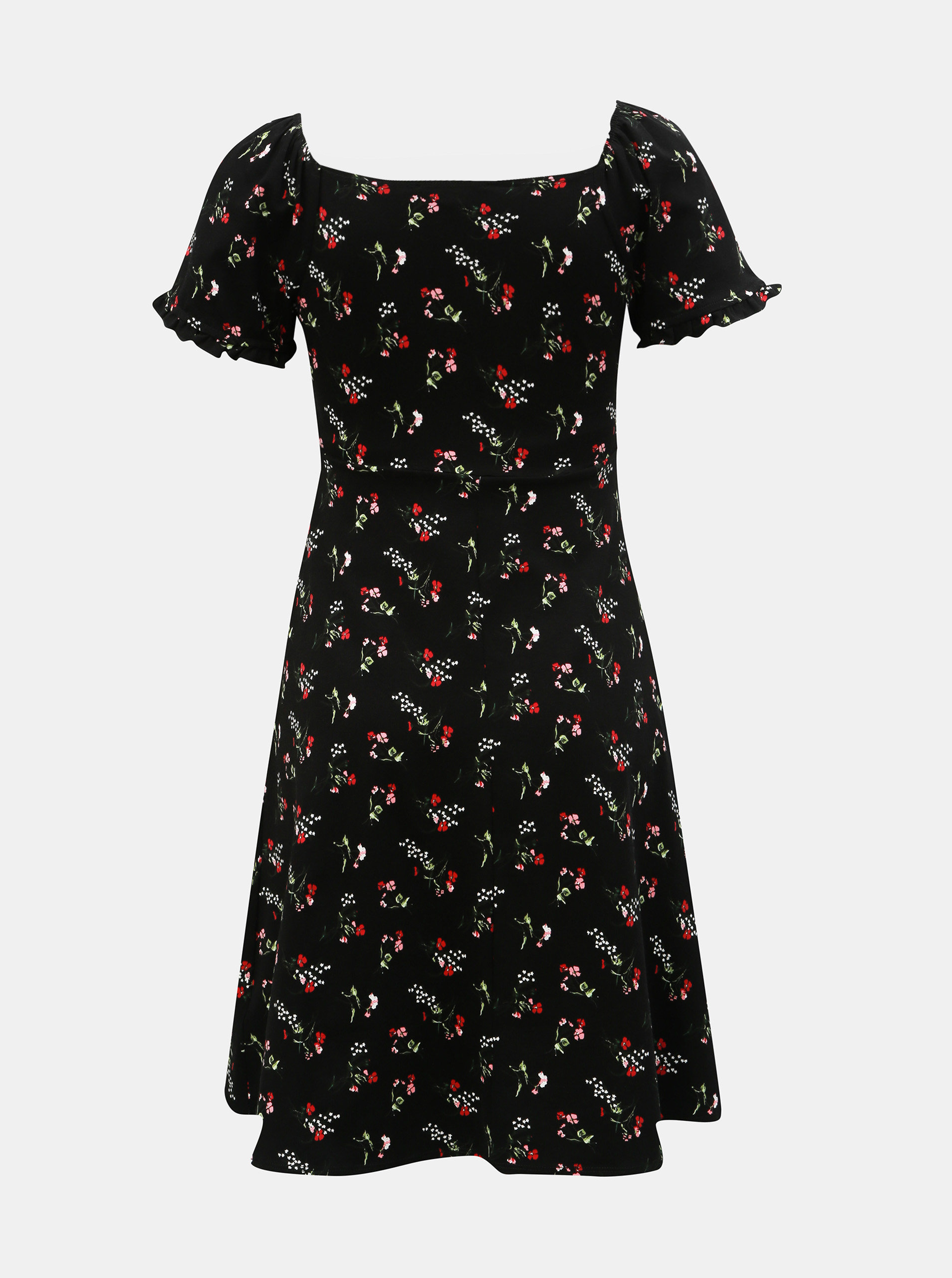 ce3777e01347 Čierne tehotenské kvetované šaty Dorothy Perkins Maternity ...