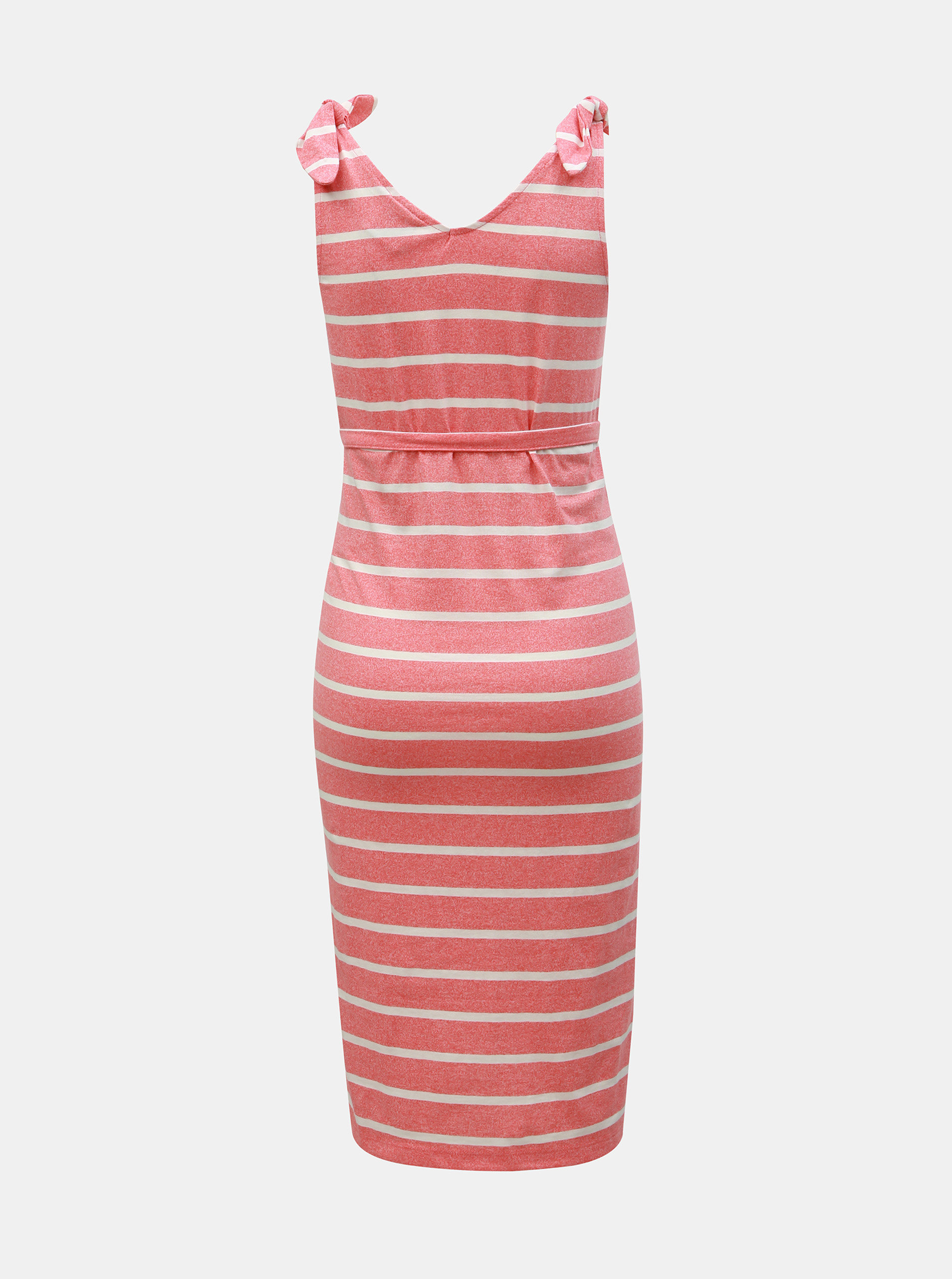 dcfab9cfc835 Ružové tehotenské pruhované šaty Mama.licious Annetta ...