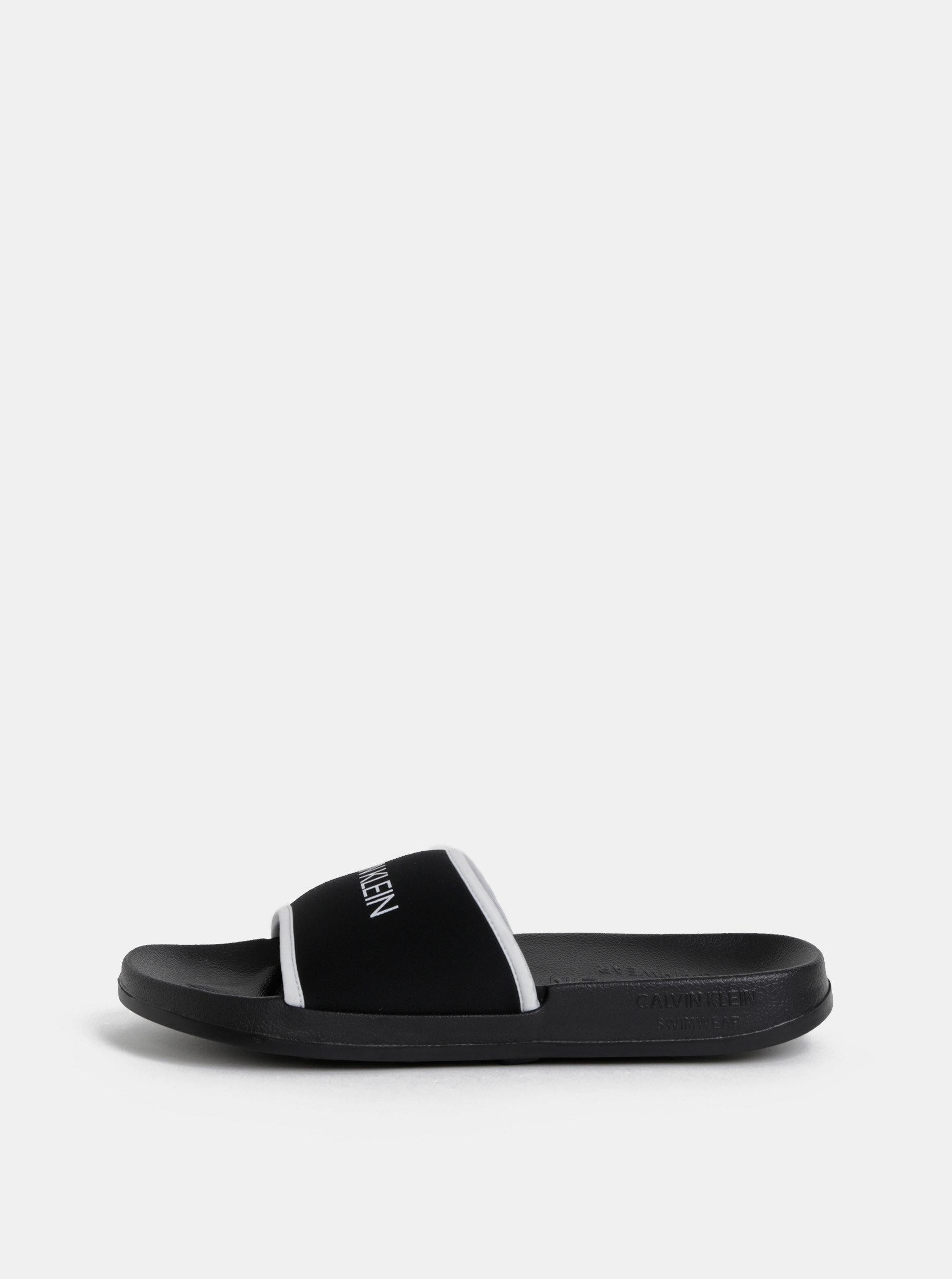 f61d2ef1cd964 Čierne pánske šľapky Calvin Klein Underwear | ZOOT.sk