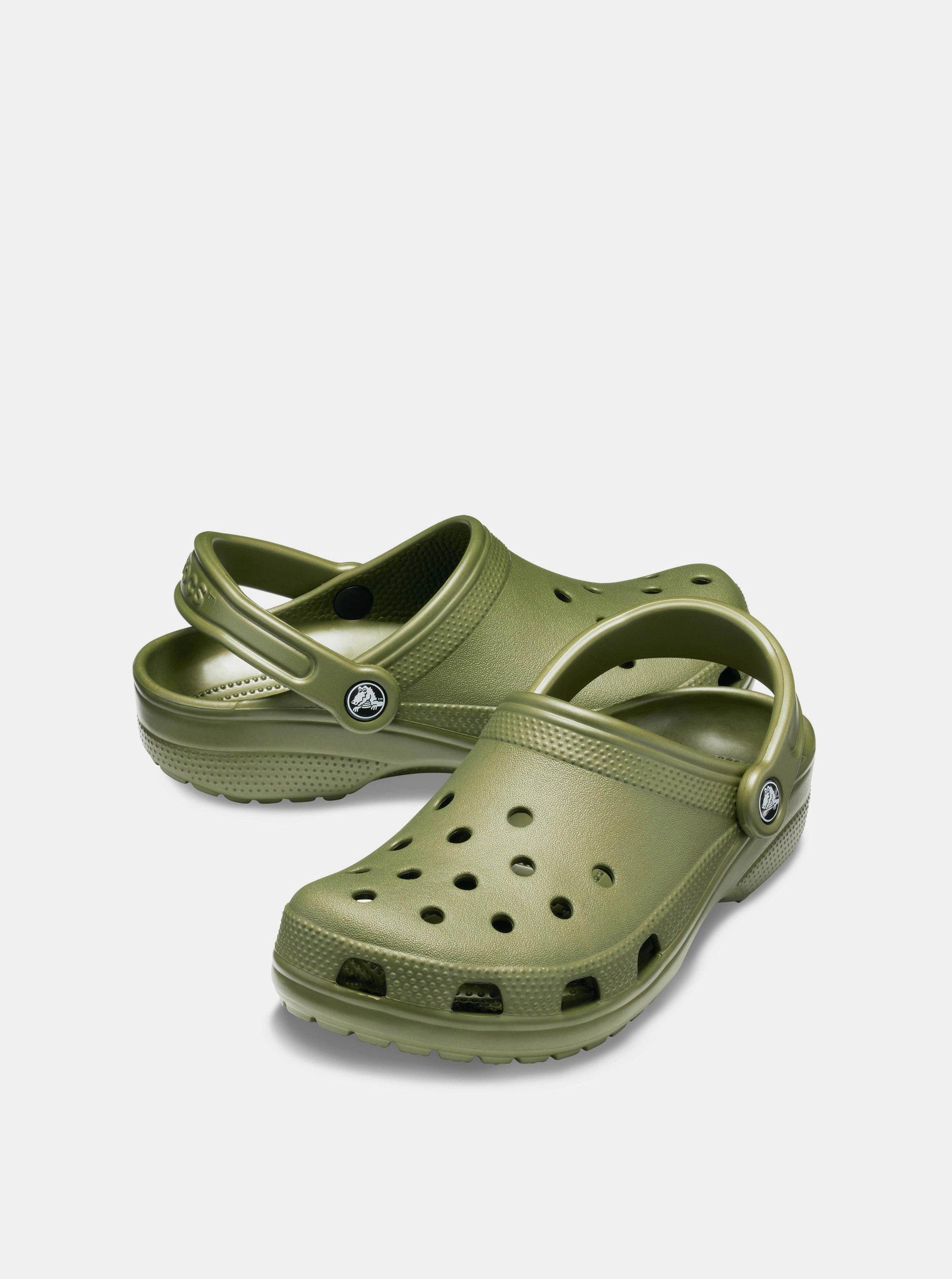 c11483cd24fb5 Kaki pánske šľapky Crocs Classic | ZOOT.sk