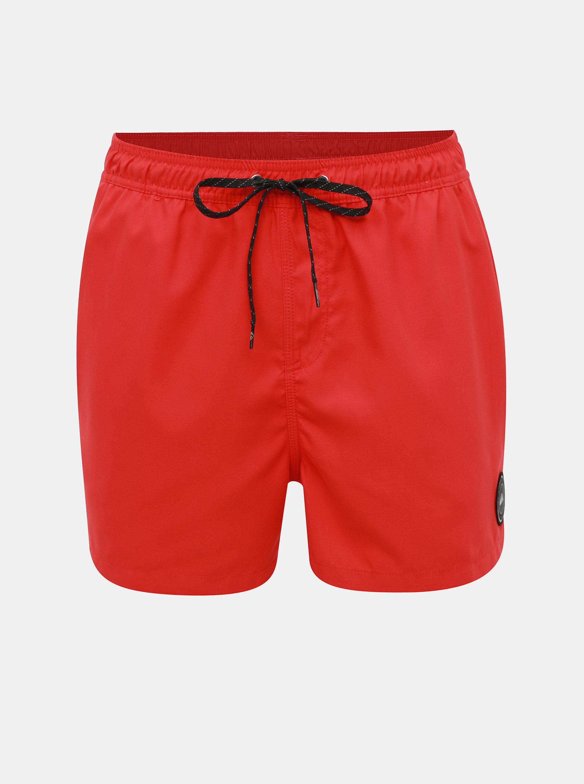59119a1c5c Červené plavky Quiksilver ...