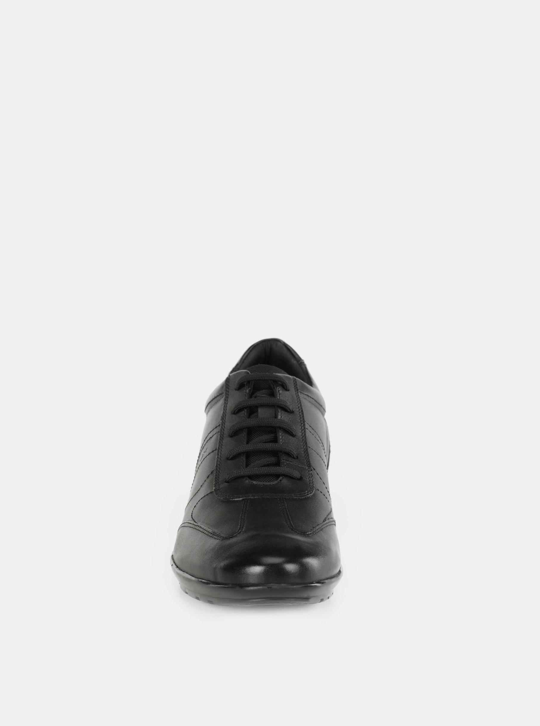 e595af622 Čierne pánske kožené tenisky Geox Lea | ZOOT.sk