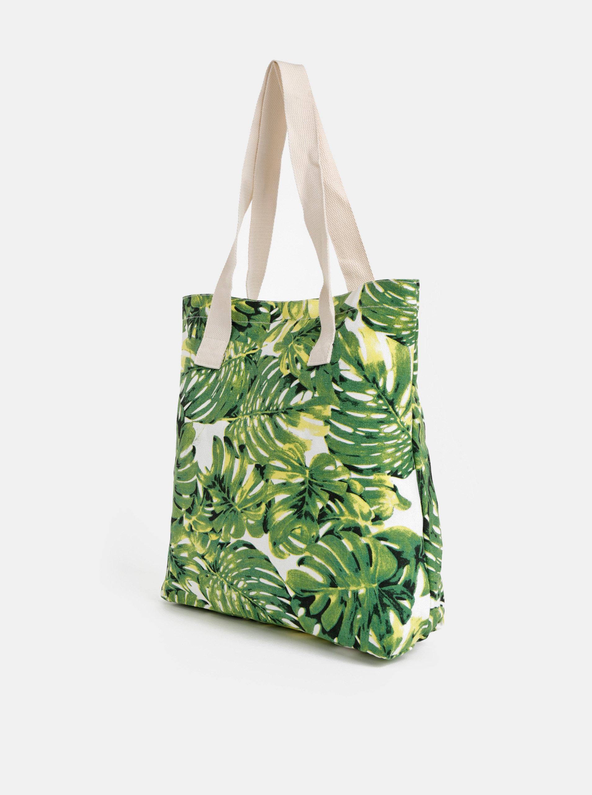 f57b619a02 Zelená vzorovaná taška Haily´s Malibu ...