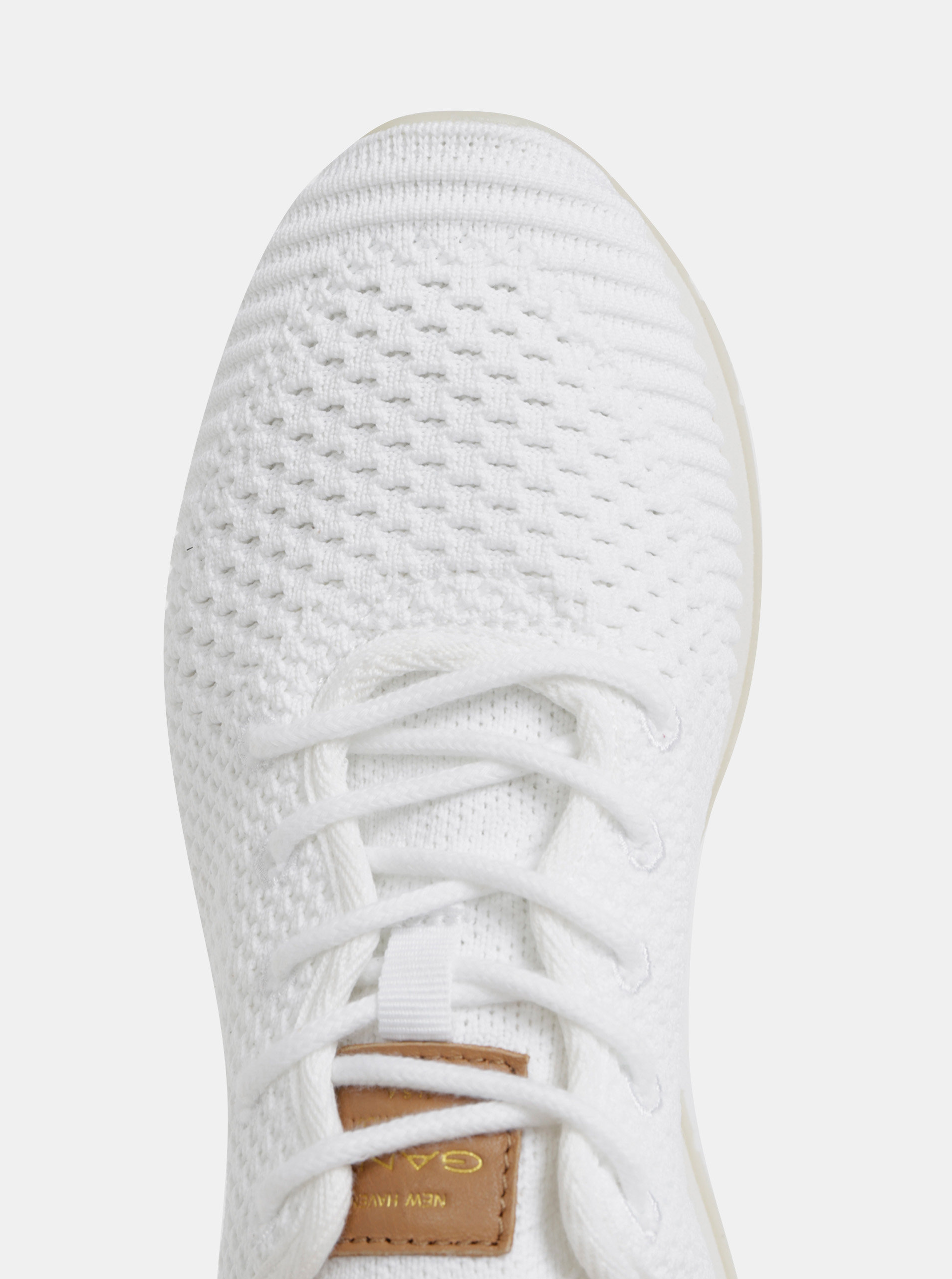 8645bd1b8f Biele dámske tenisky s koženými detailmi GANT Linda ...