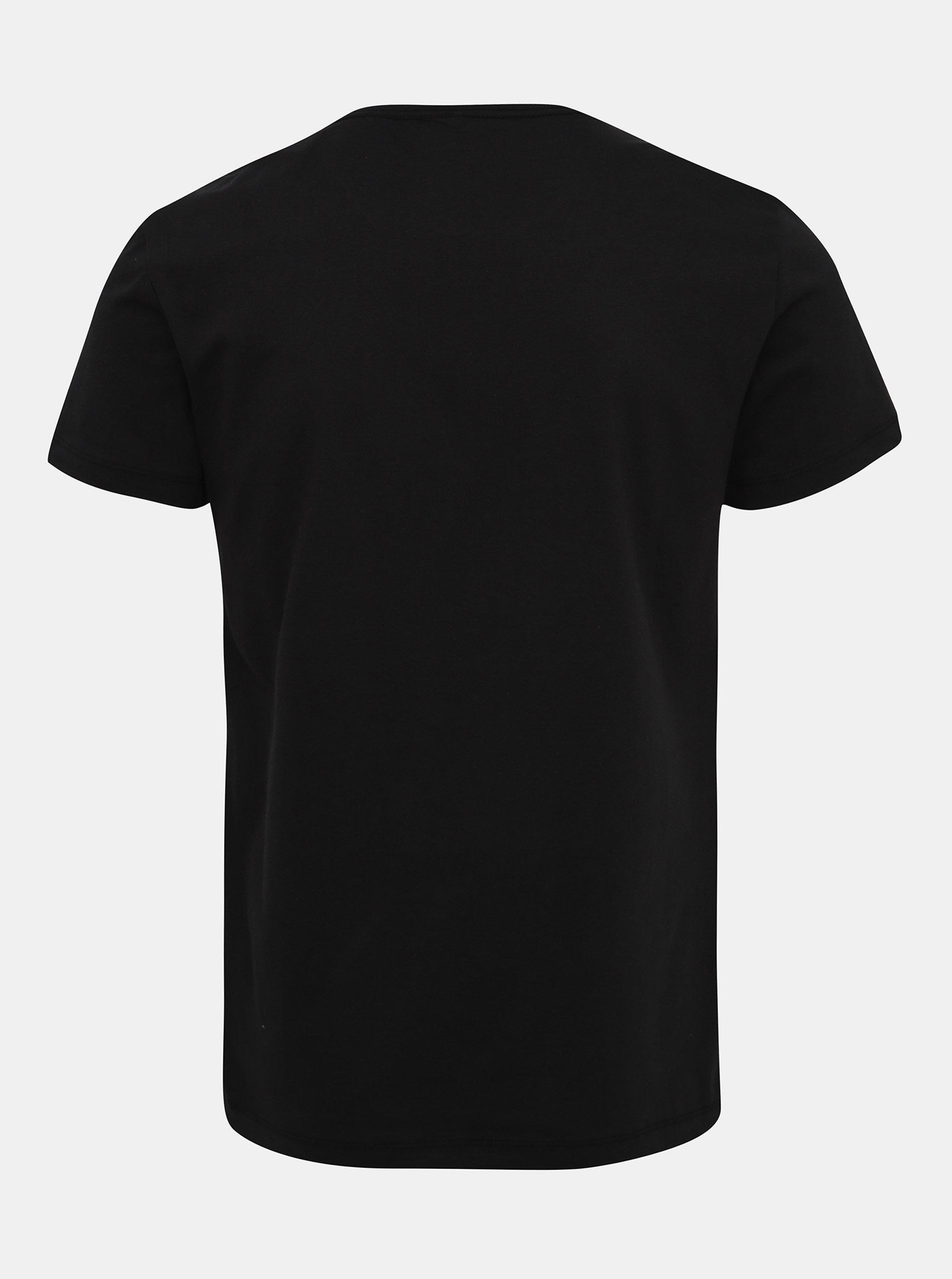 49b12ab1a Čierne tričko s potlačou Blend | ZOOT.sk