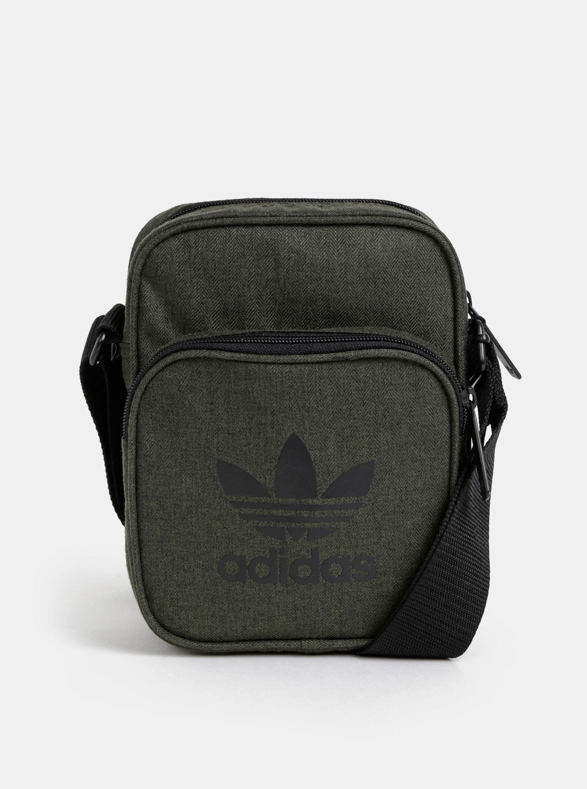 e8c096abe4527 Tmavě zelená crossbody taška adidas Originals | ZOOT.cz