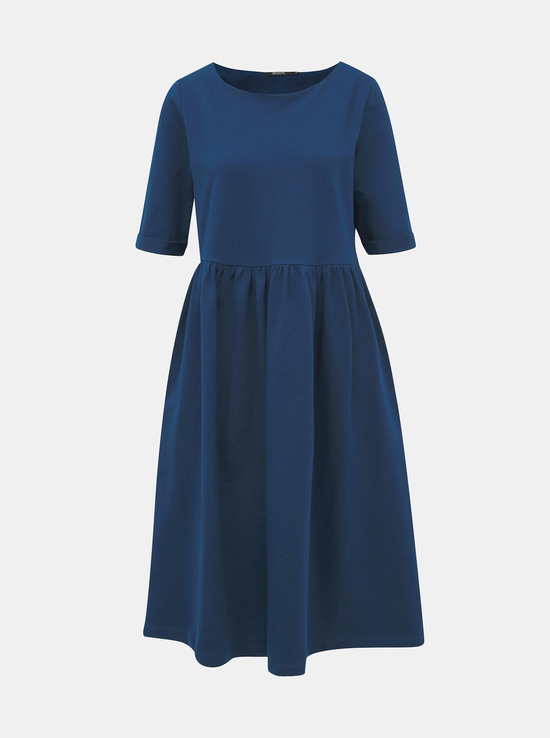 Tmavě modré mikinové šaty ZOOT Monika