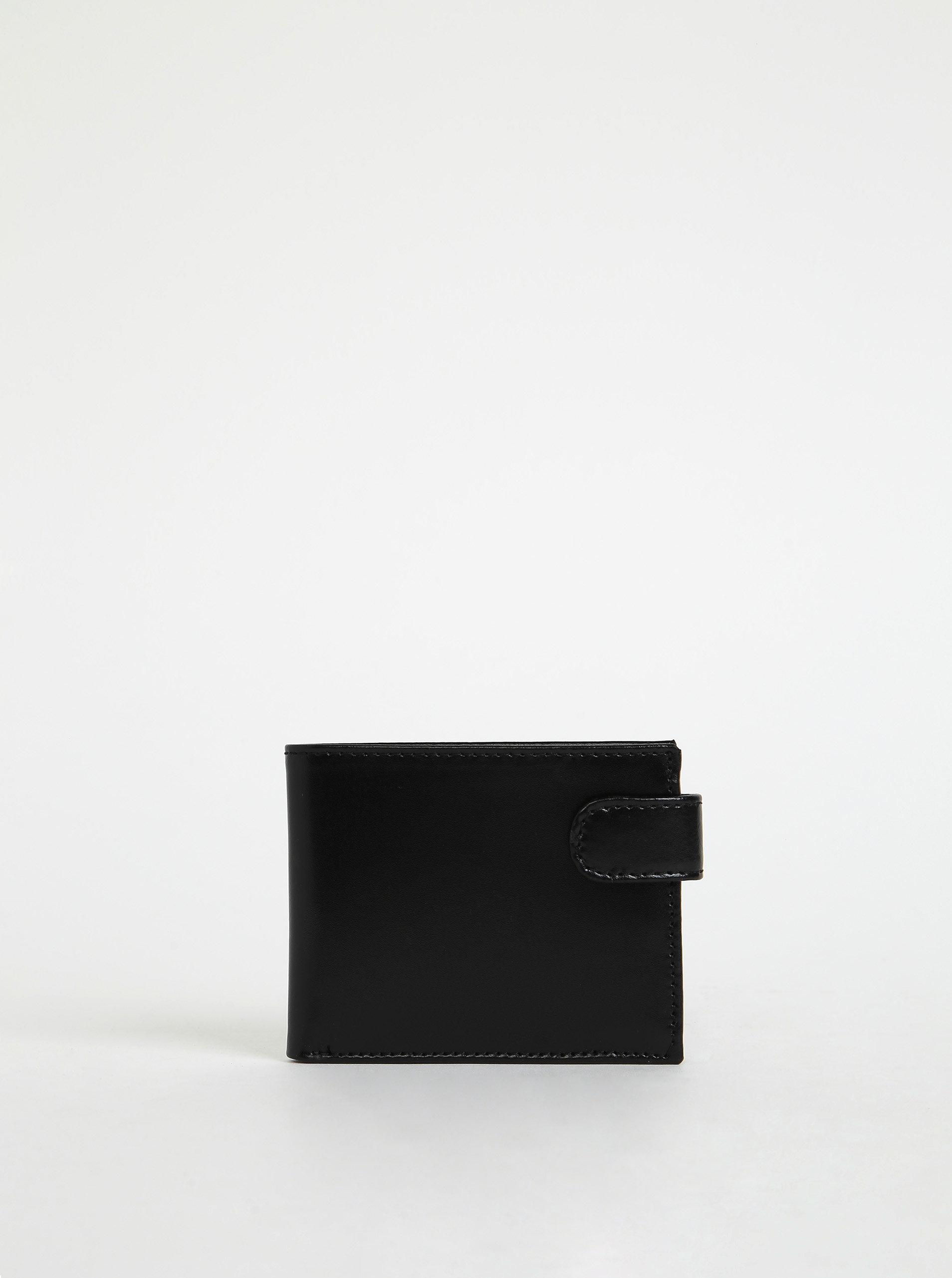 Černá pánská kožená peněženka OJJU