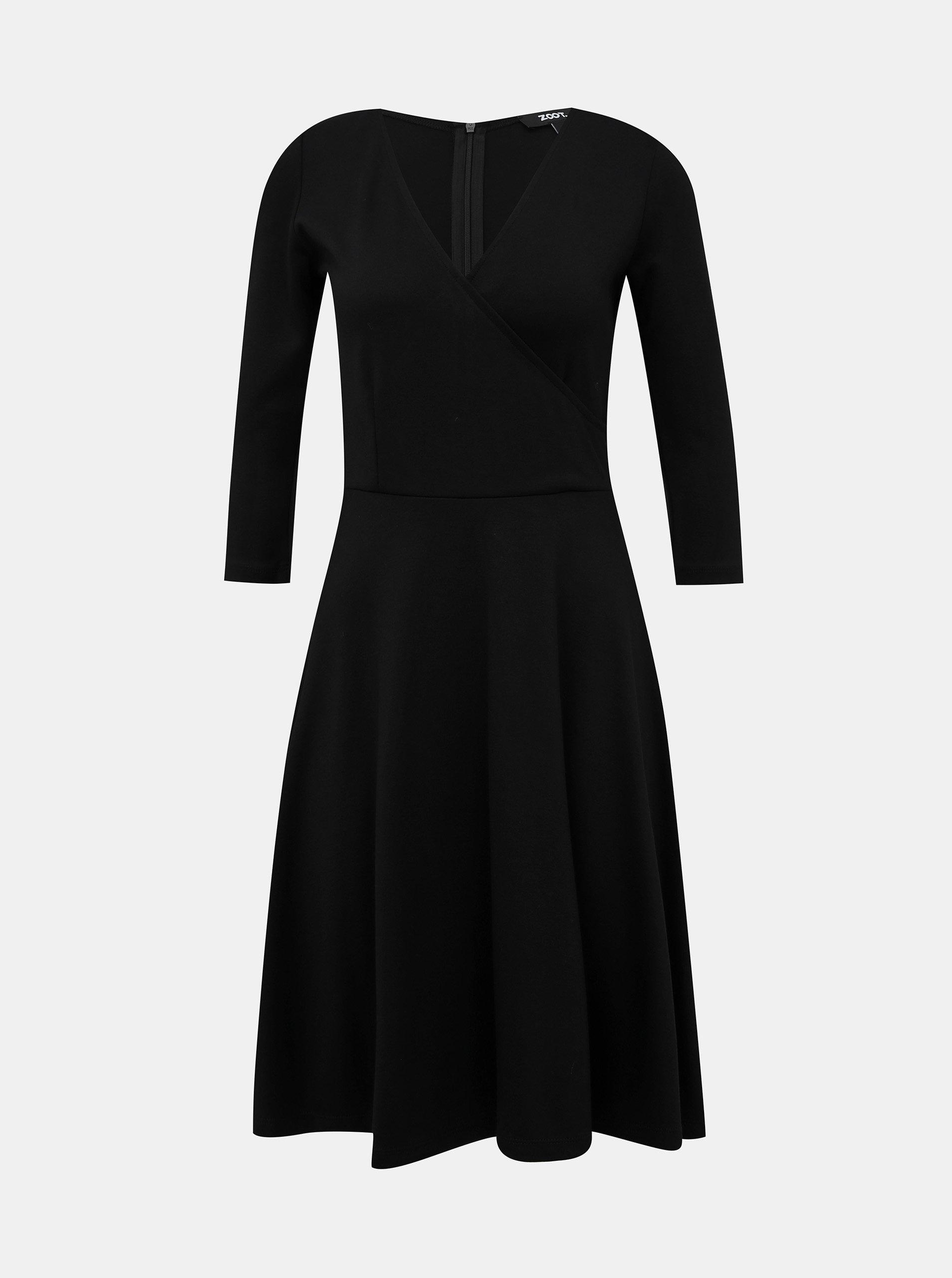 Černé šaty ZOOT Megan