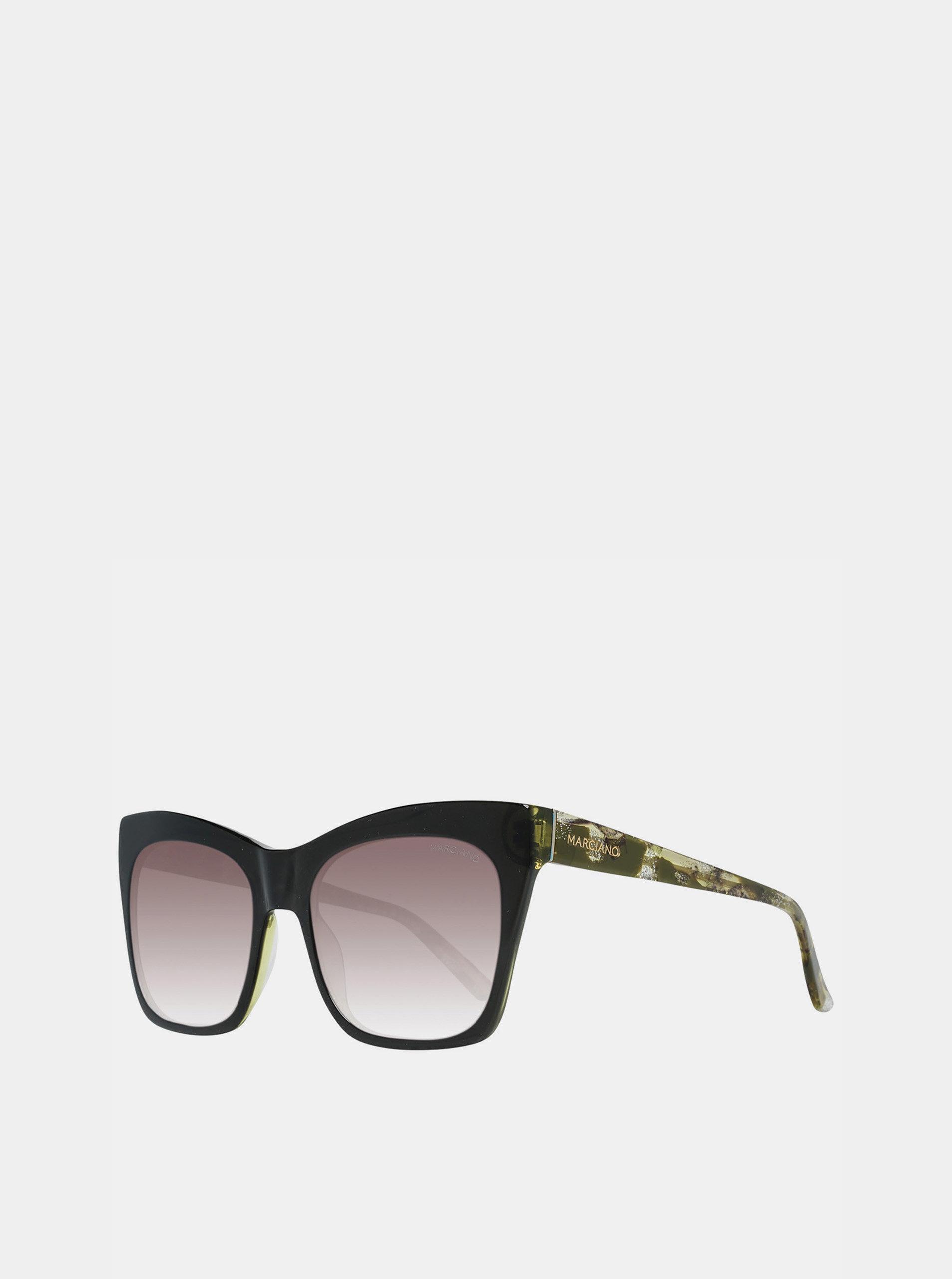 Zelené dámské sluneční brýle Guess by Marciano