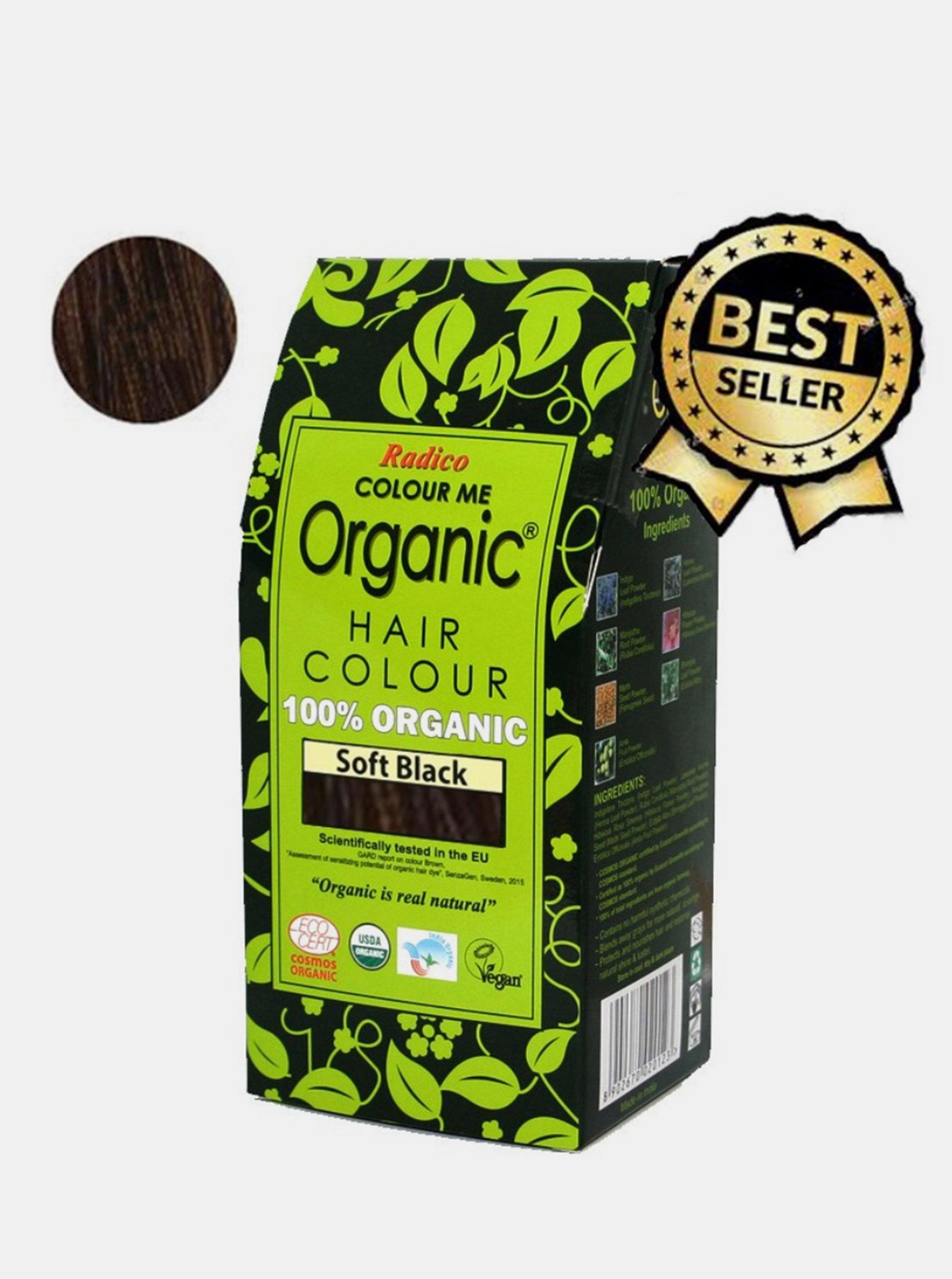 Přírodní barva na vlasy BIO - černá 100 g Radico