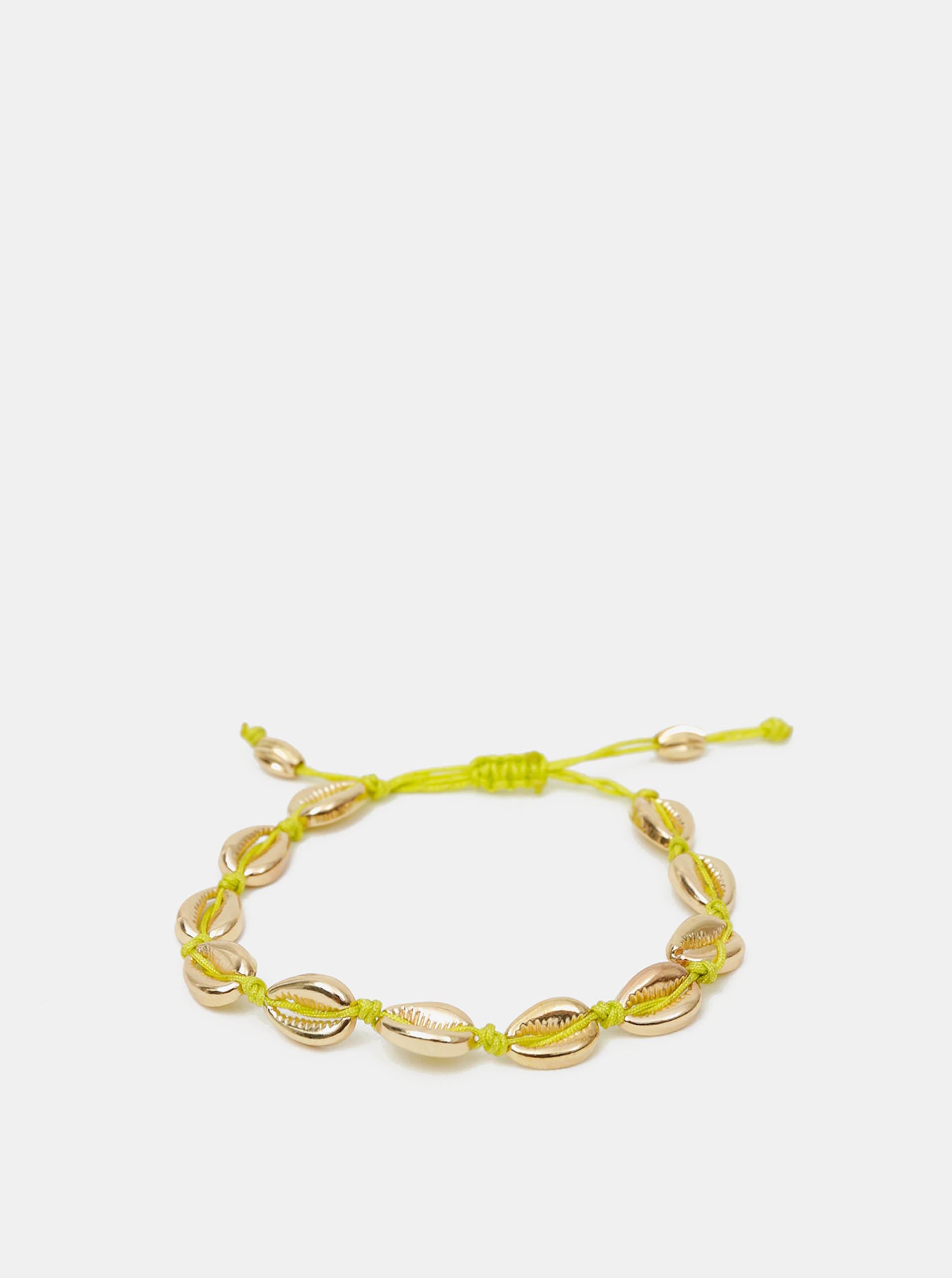 Náramek ve zlaté barvě Pieces Nella