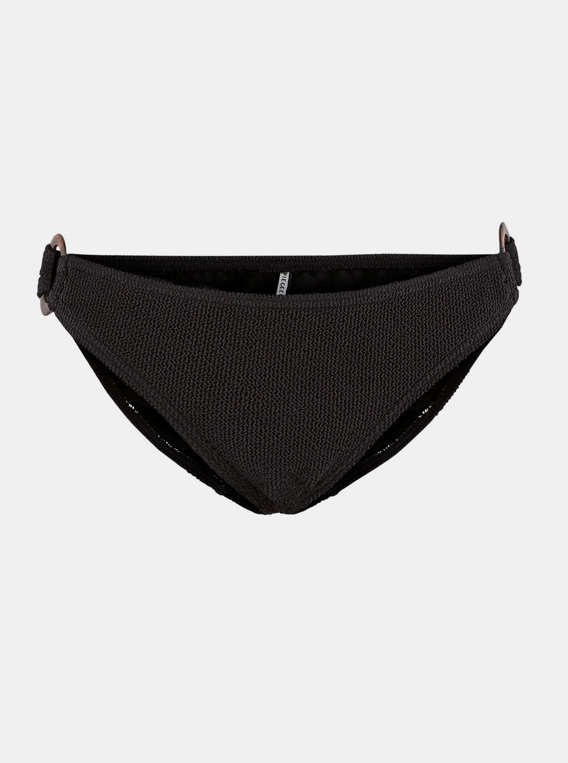 Černý spodní díl plavek Pieces Nora