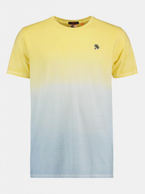 Žluto-modré pánské tričko Haily´s Colour