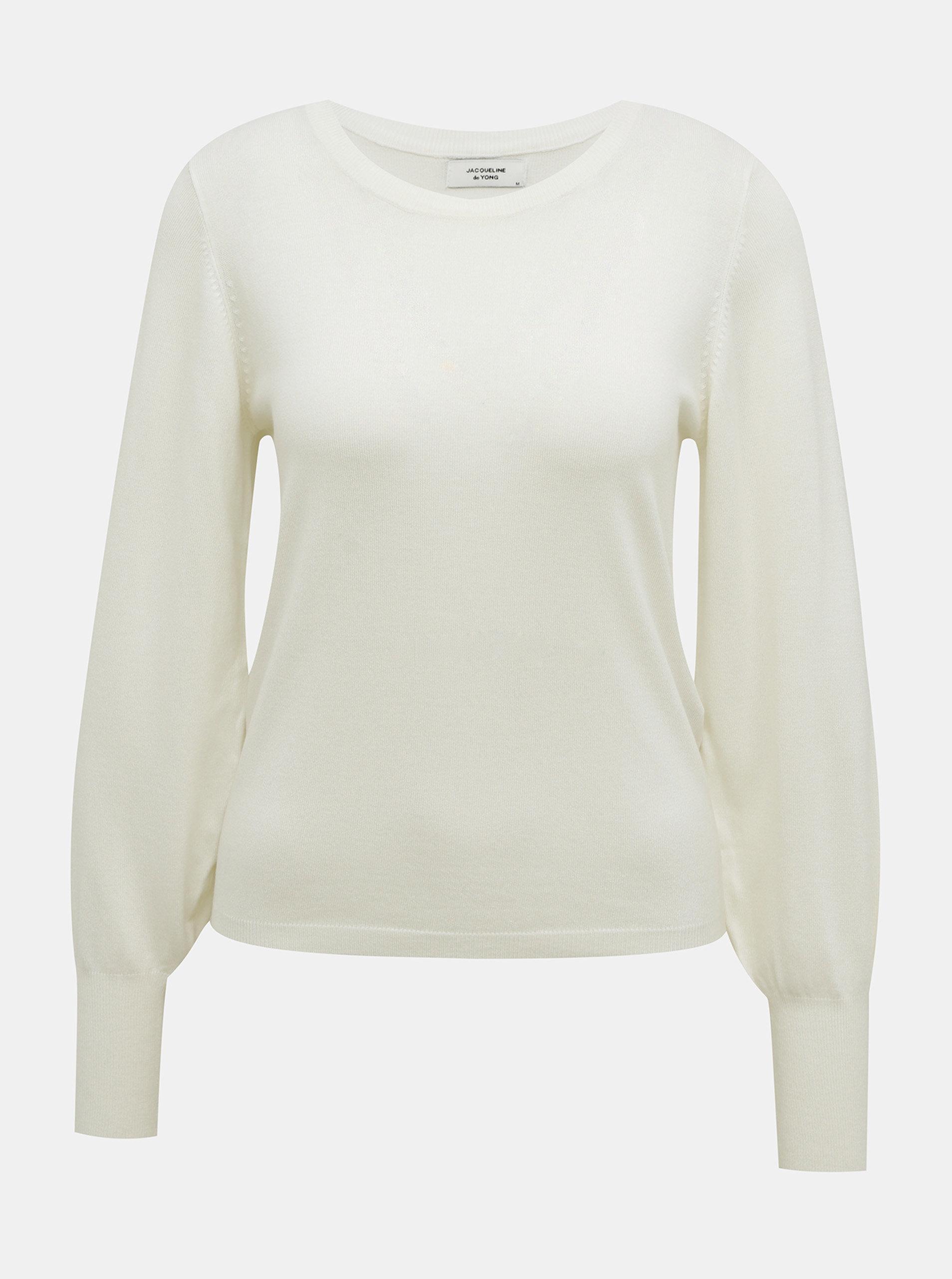 Bílý svetr Jacqueline de Yong-Maglia