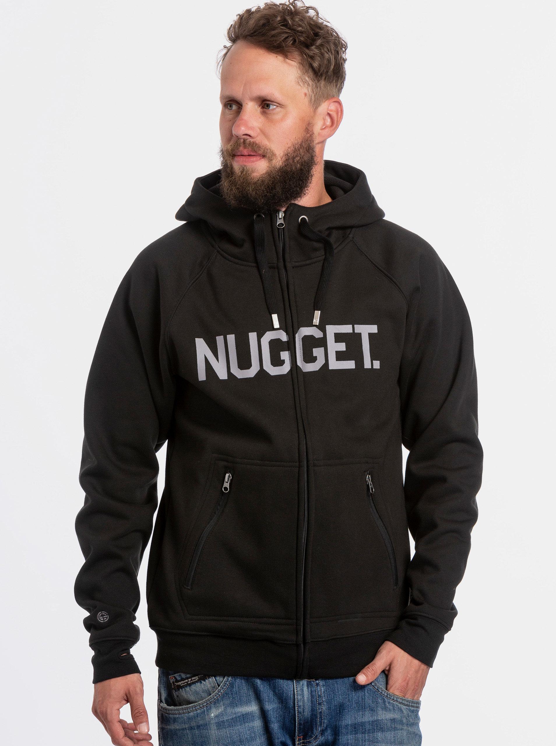 Černá pánská mikina NUGGET Ironsight