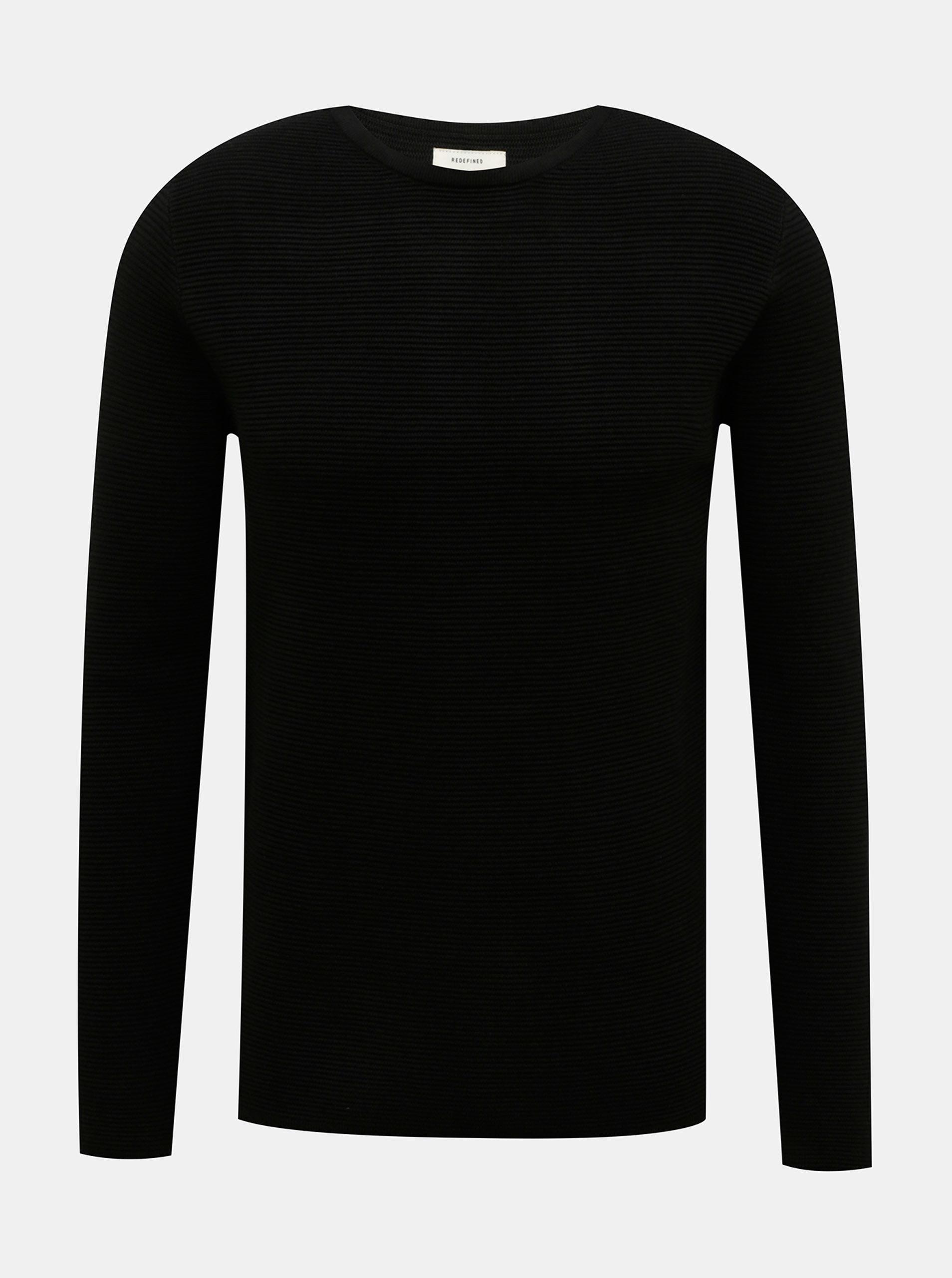 Černý pánský svetr Redefined Rebel