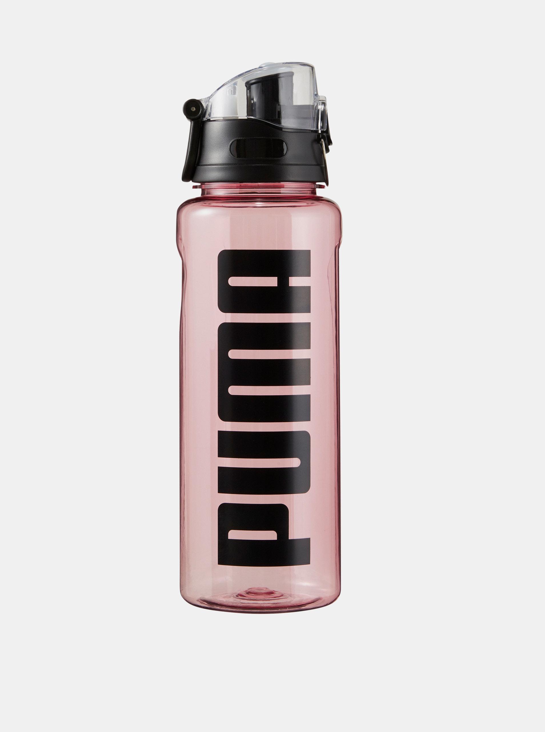 Růžová láhev na pití Puma