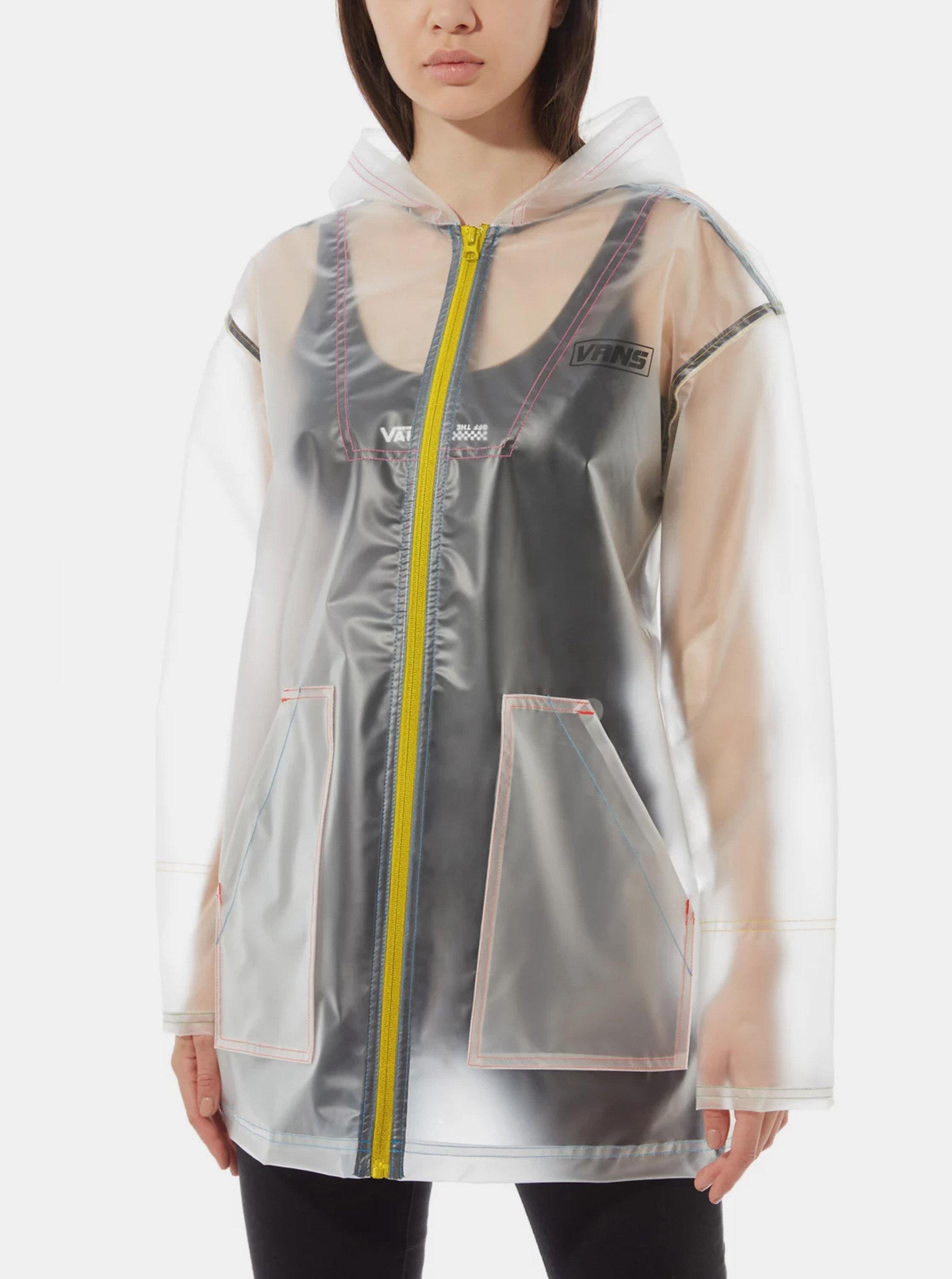 Transparentní dámská pláštěnka VANS Thread It