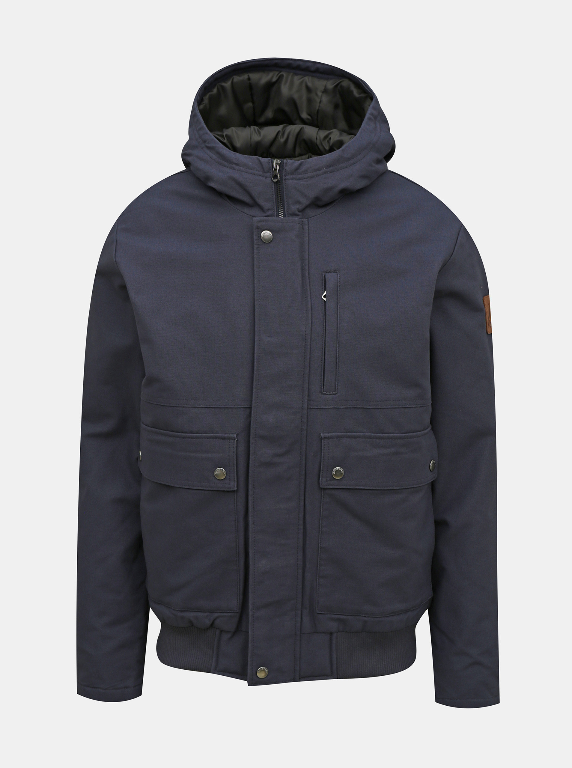 Tmavomodrá zimná bunda Quiksilver