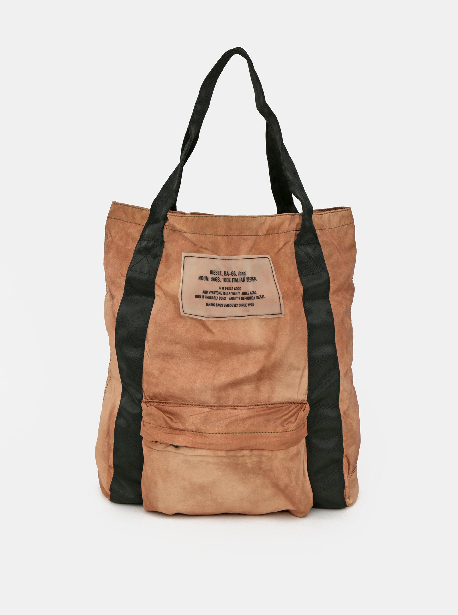 Hnedá dámska taška Diesel