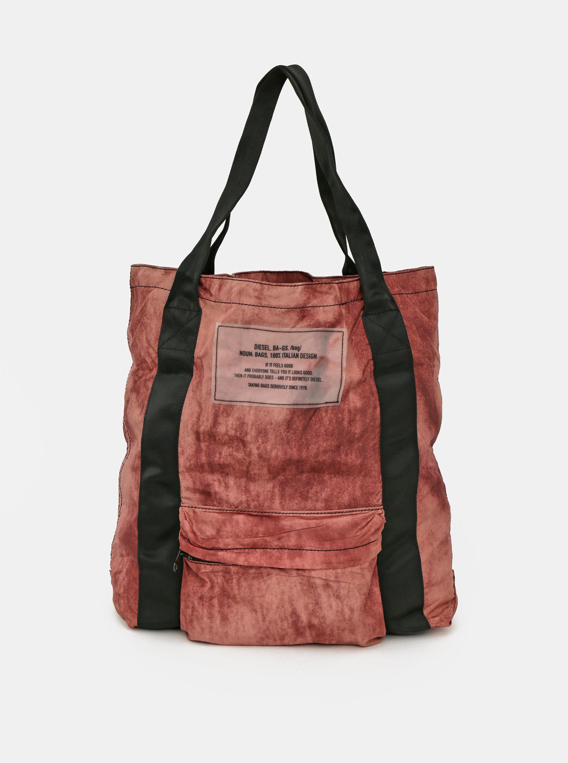 Tehlová dámska taška Diesel